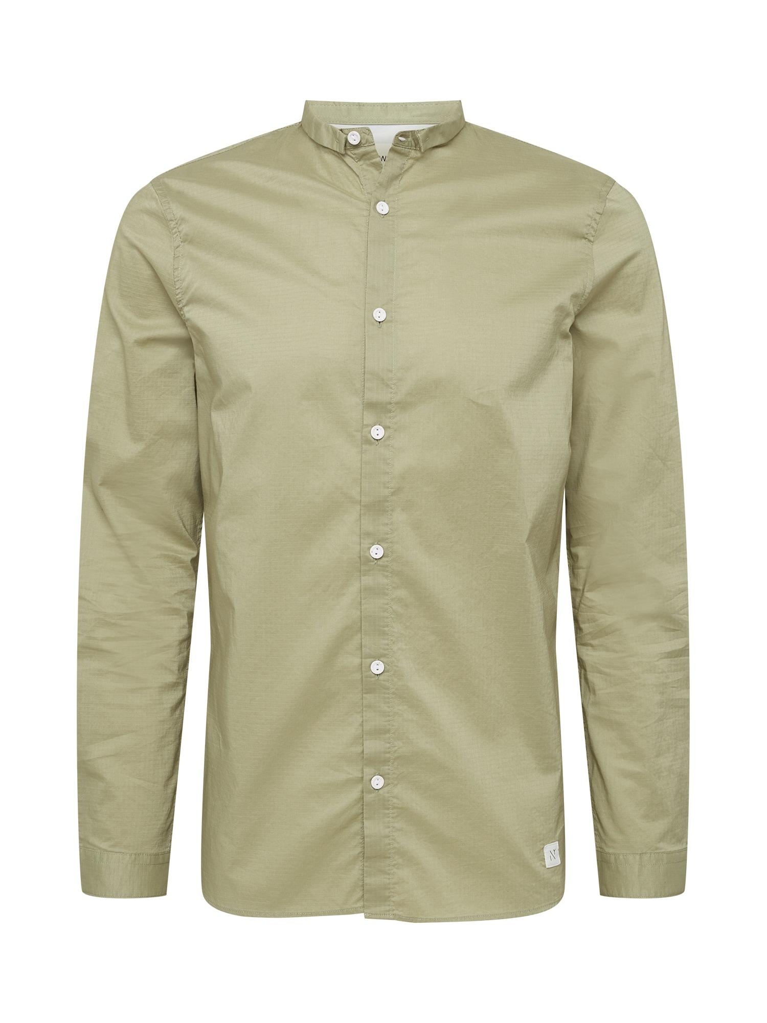 NOWADAYS Marškiniai alyvuogių spalva
