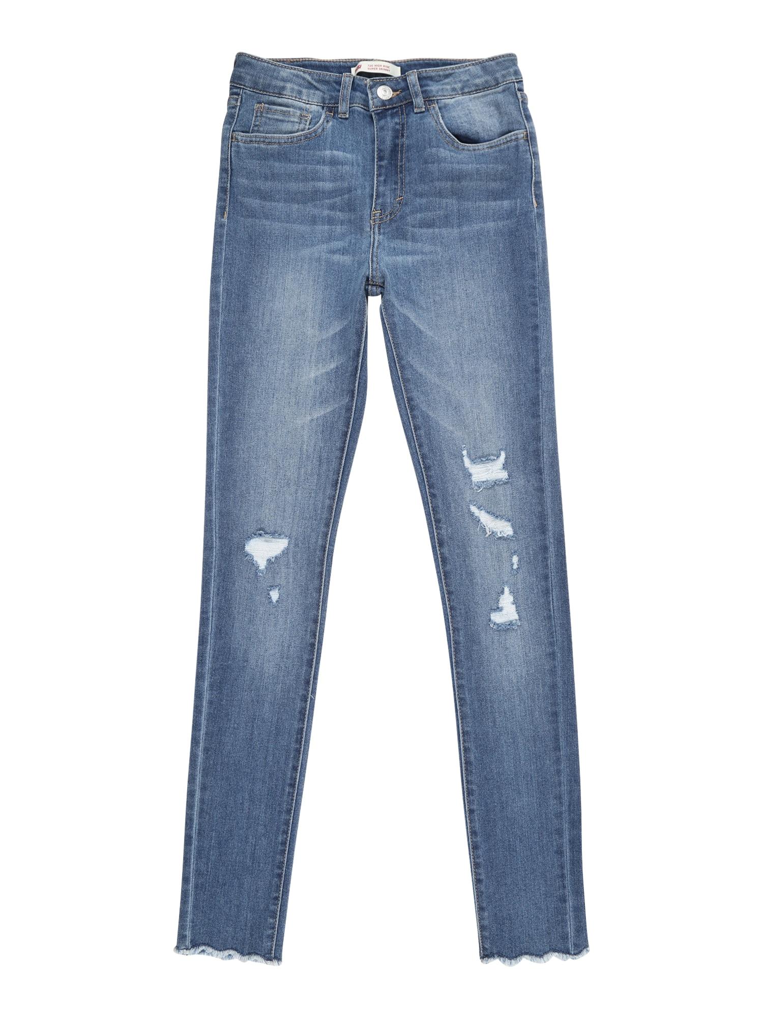 LEVI'S Džíny 'LVG 720 HIGH RISE SUPER SKINNY'  modrá džínovina