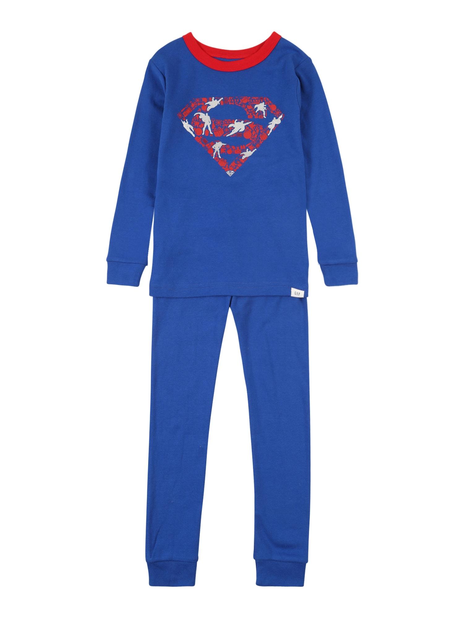 """GAP Miego kostiumas sodri mėlyna (""""karališka"""") / melionų spalva / balta"""