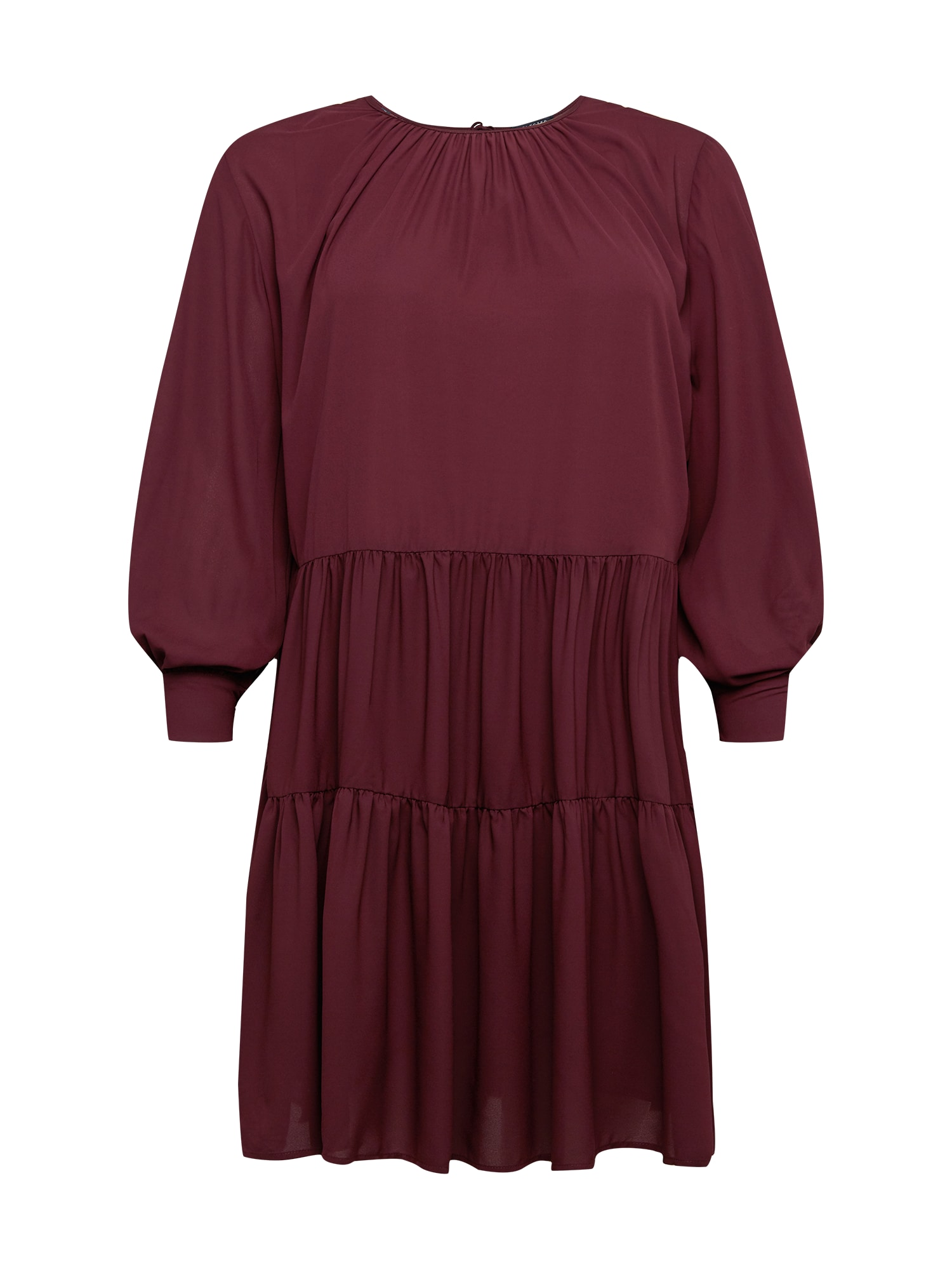 Selected Femme Curve Suknelė vyno raudona spalva