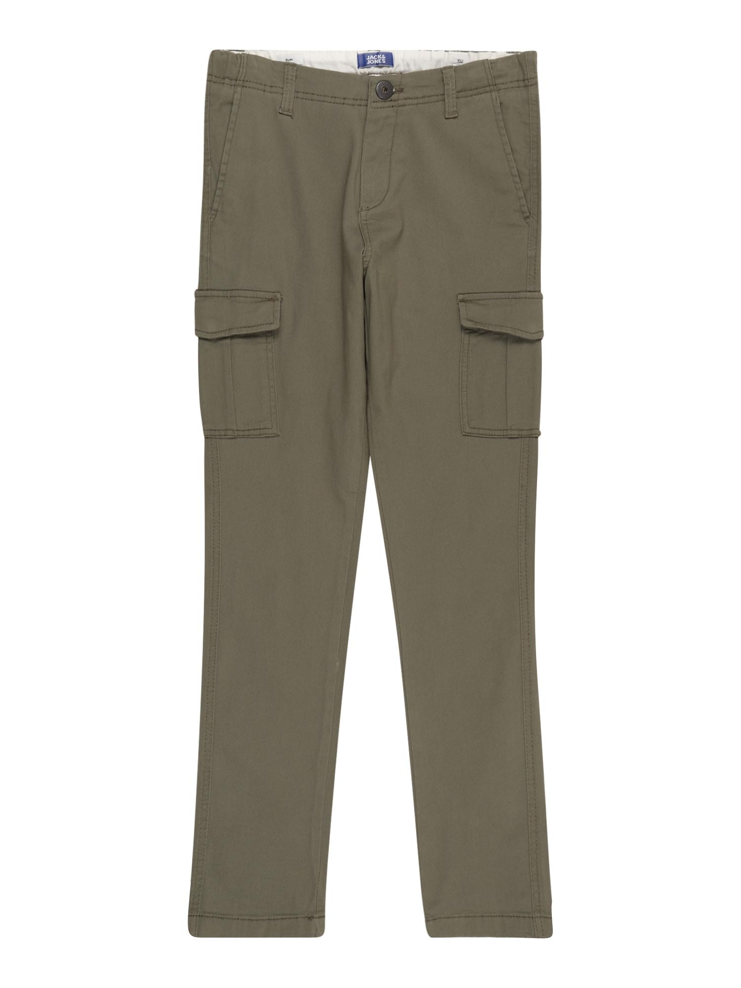 Jack & Jones Junior Kelnės 'Marco Joe' alyvuogių spalva