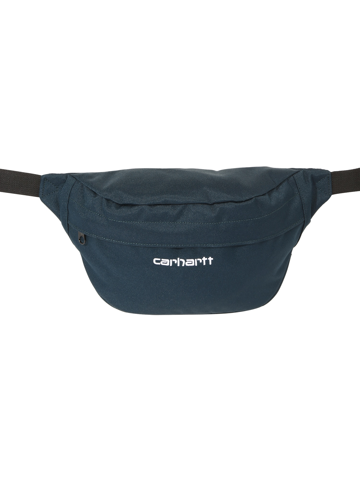 Carhartt WIP Rankinė ant juosmens 'Payton' balta / tamsiai mėlyna jūros spalva