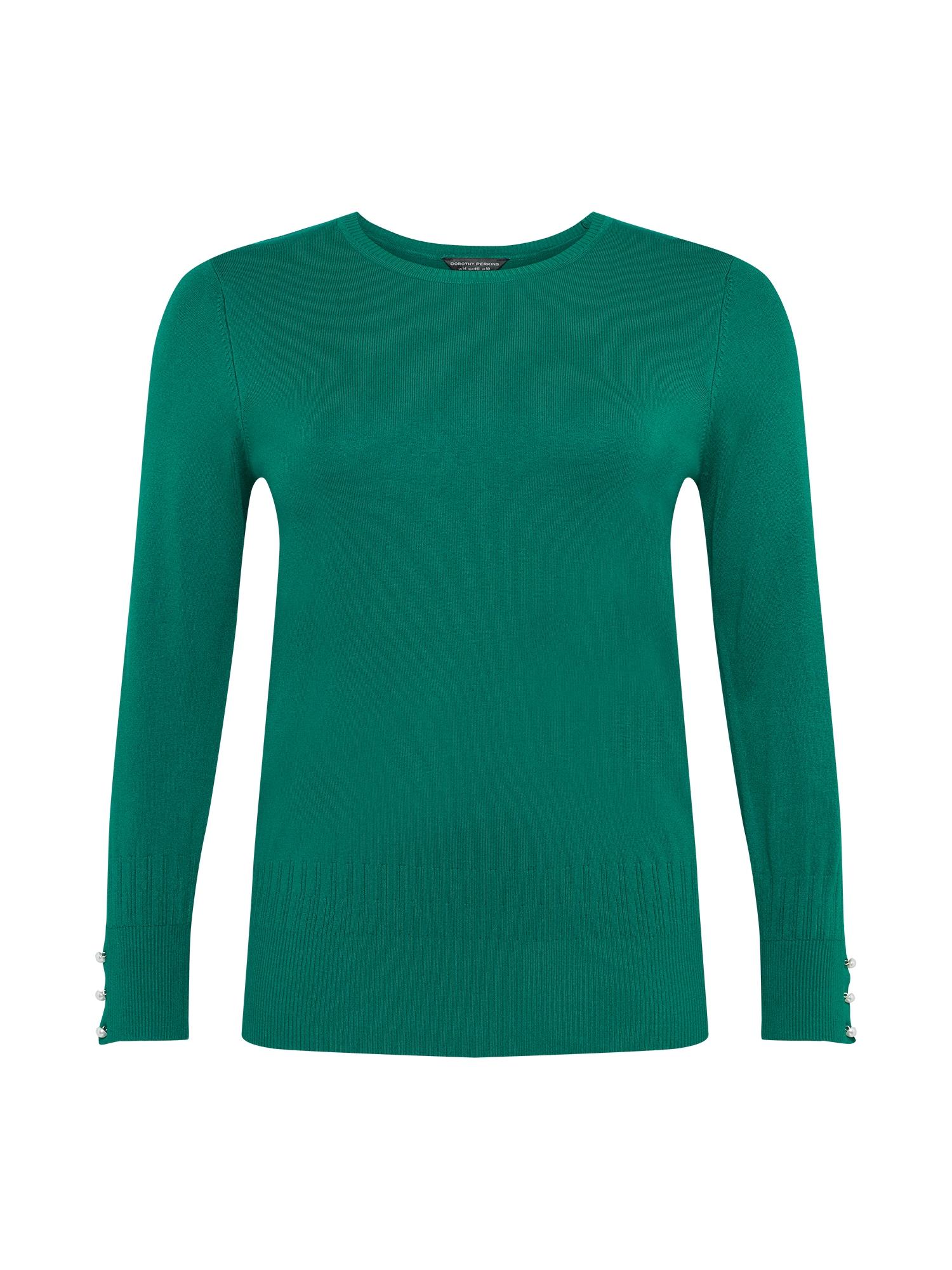 Dorothy Perkins Curve Megztinis žalia