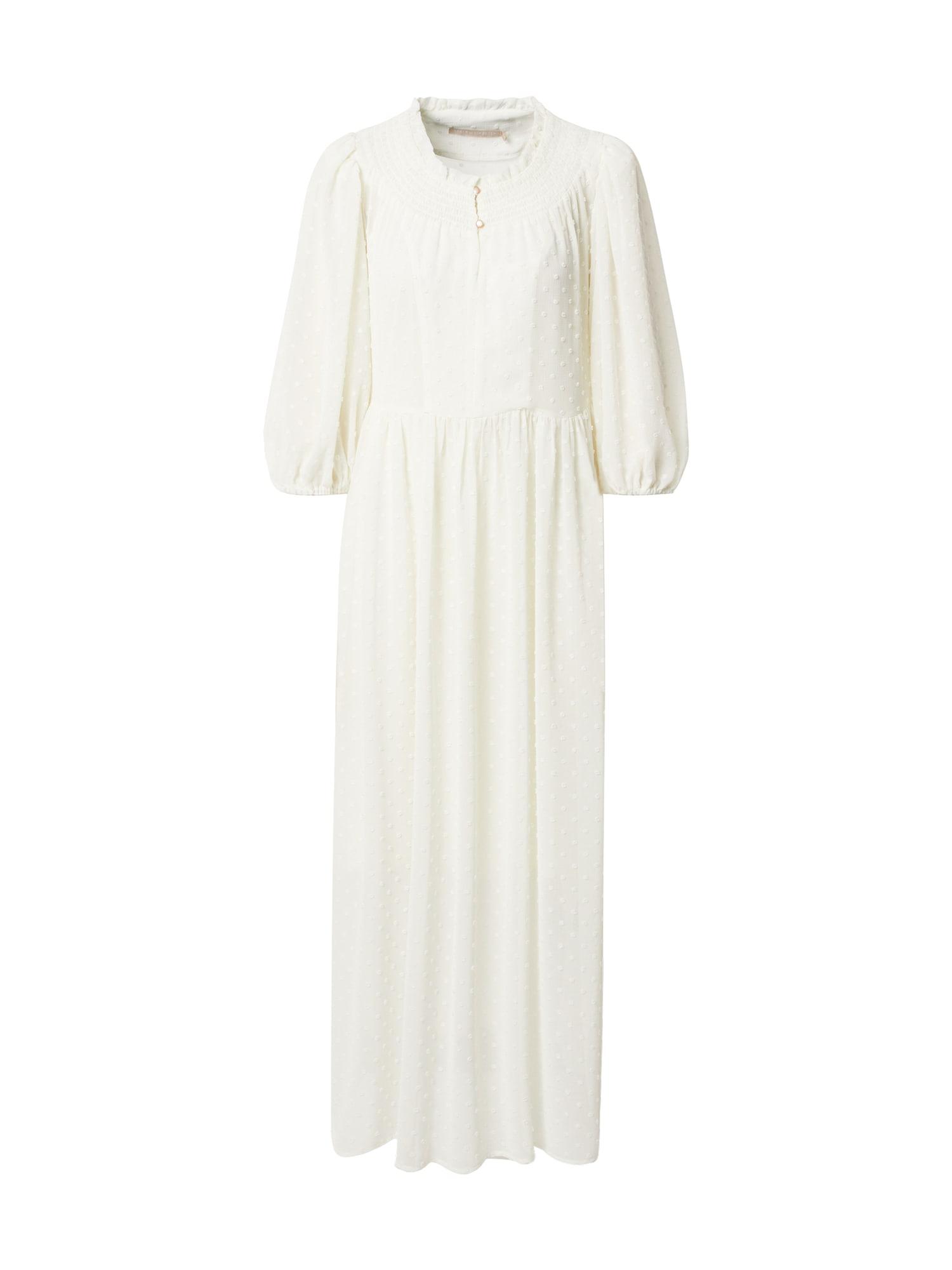 KAREN BY SIMONSEN Suknelė gelsvai pilka spalva