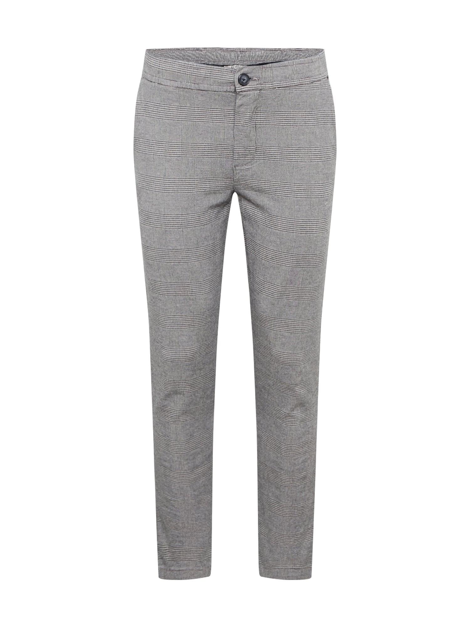 Redefined Rebel Chino kalhoty 'King'  šedá / světle šedá