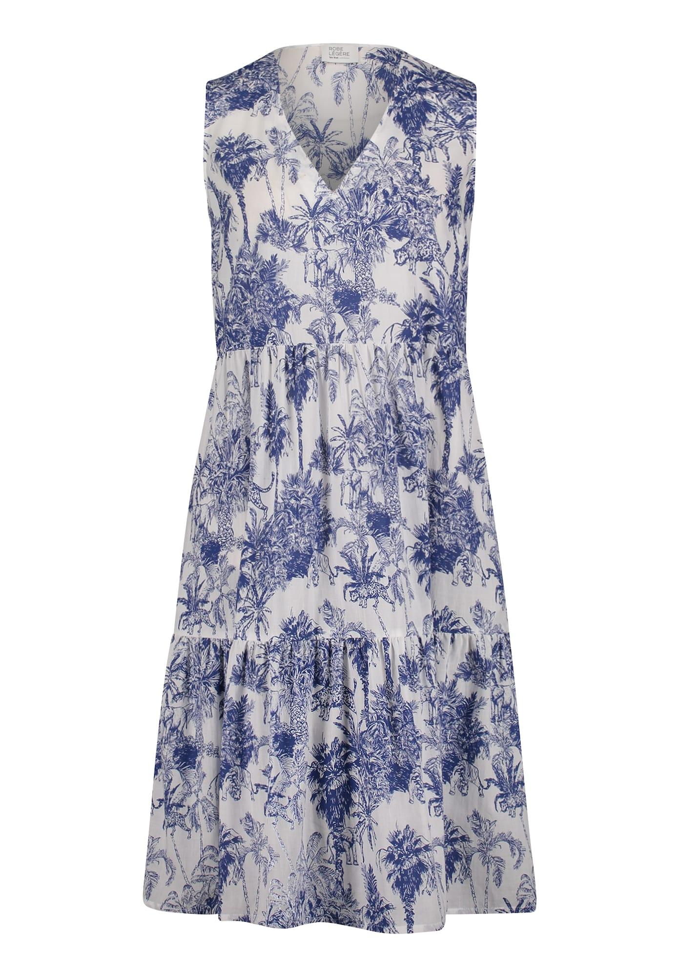 Vera Mont Suknelė mėlyna / kremo