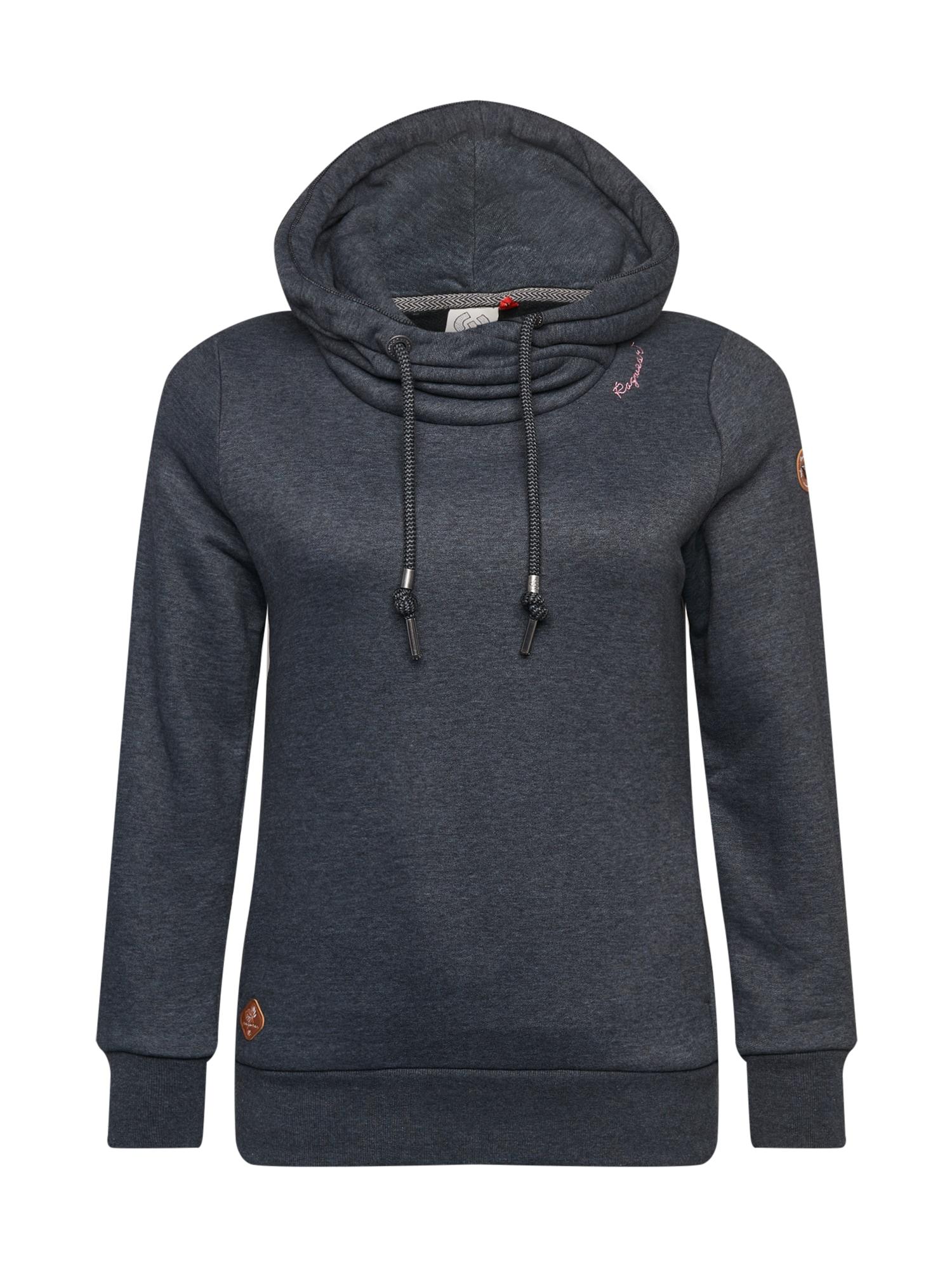 Ragwear Plus Megztinis be užsegimo juoda