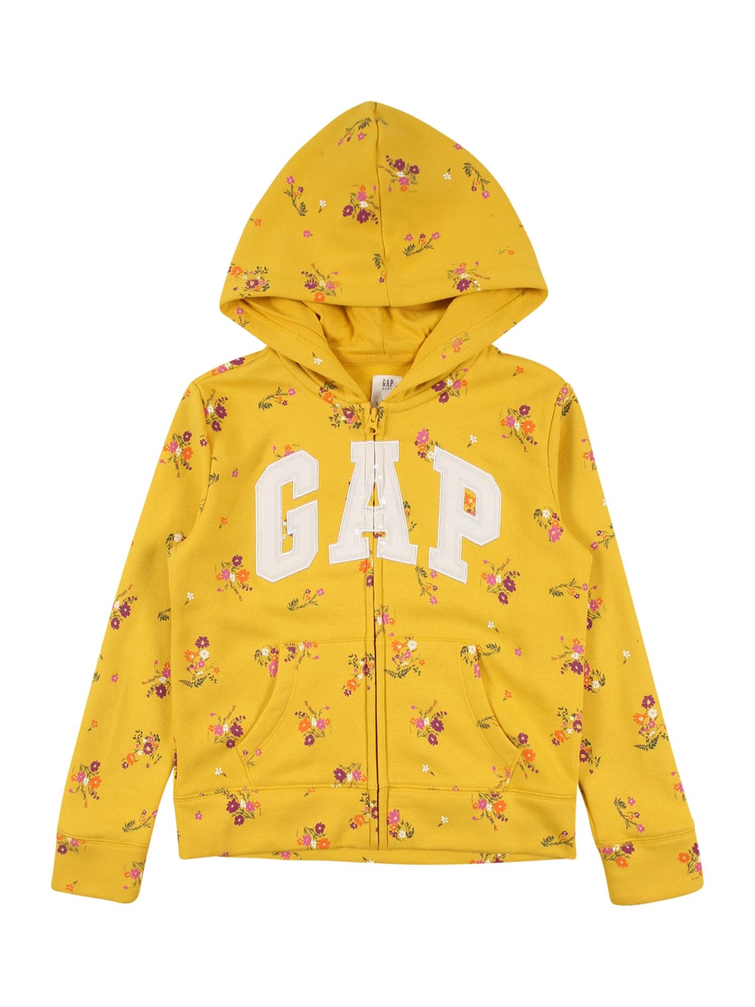 GAP Džemperis geltona / mišrios spalvos