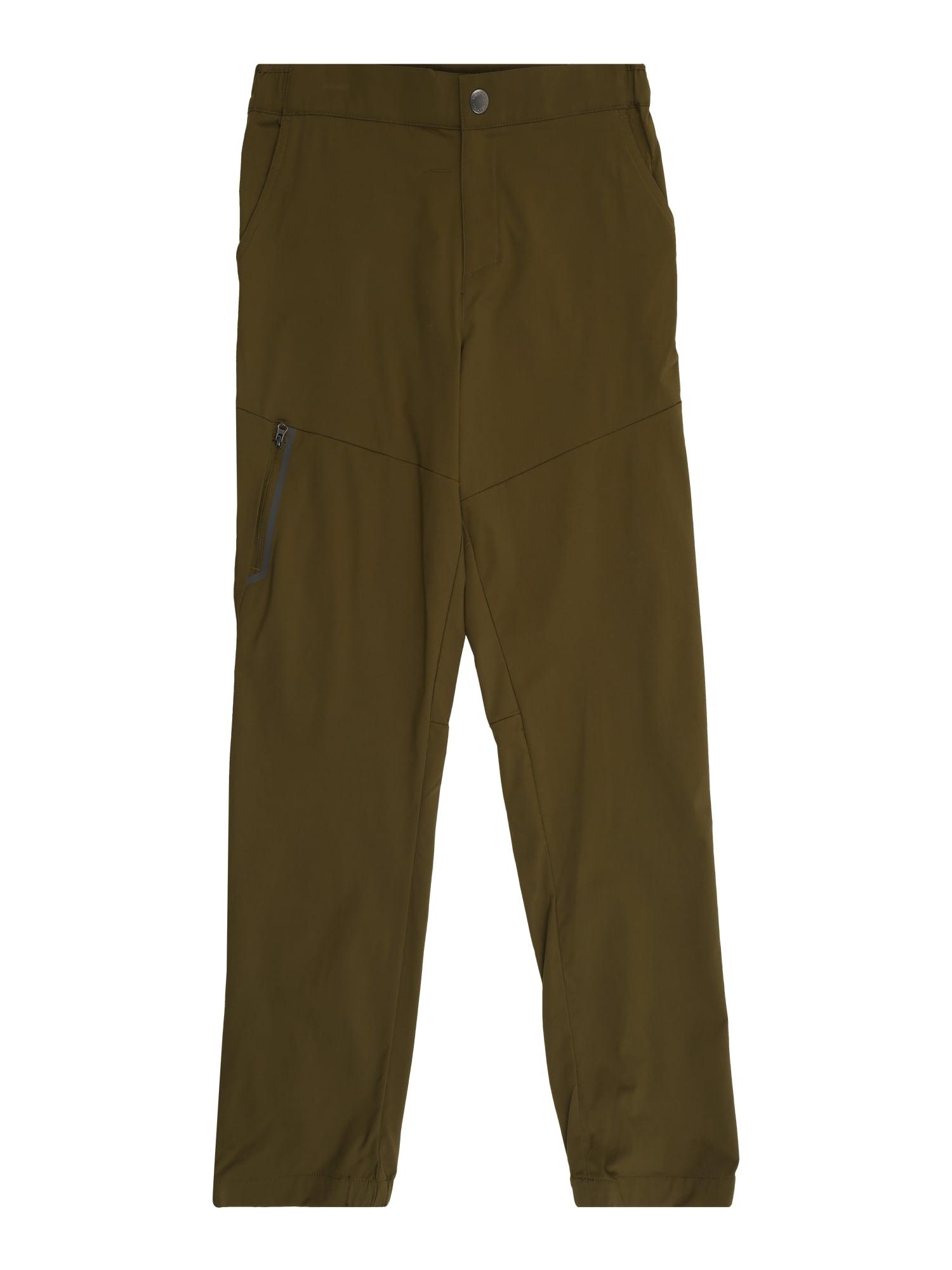COLUMBIA Outodoor kalhoty 'Tech Trek™ '  olivová