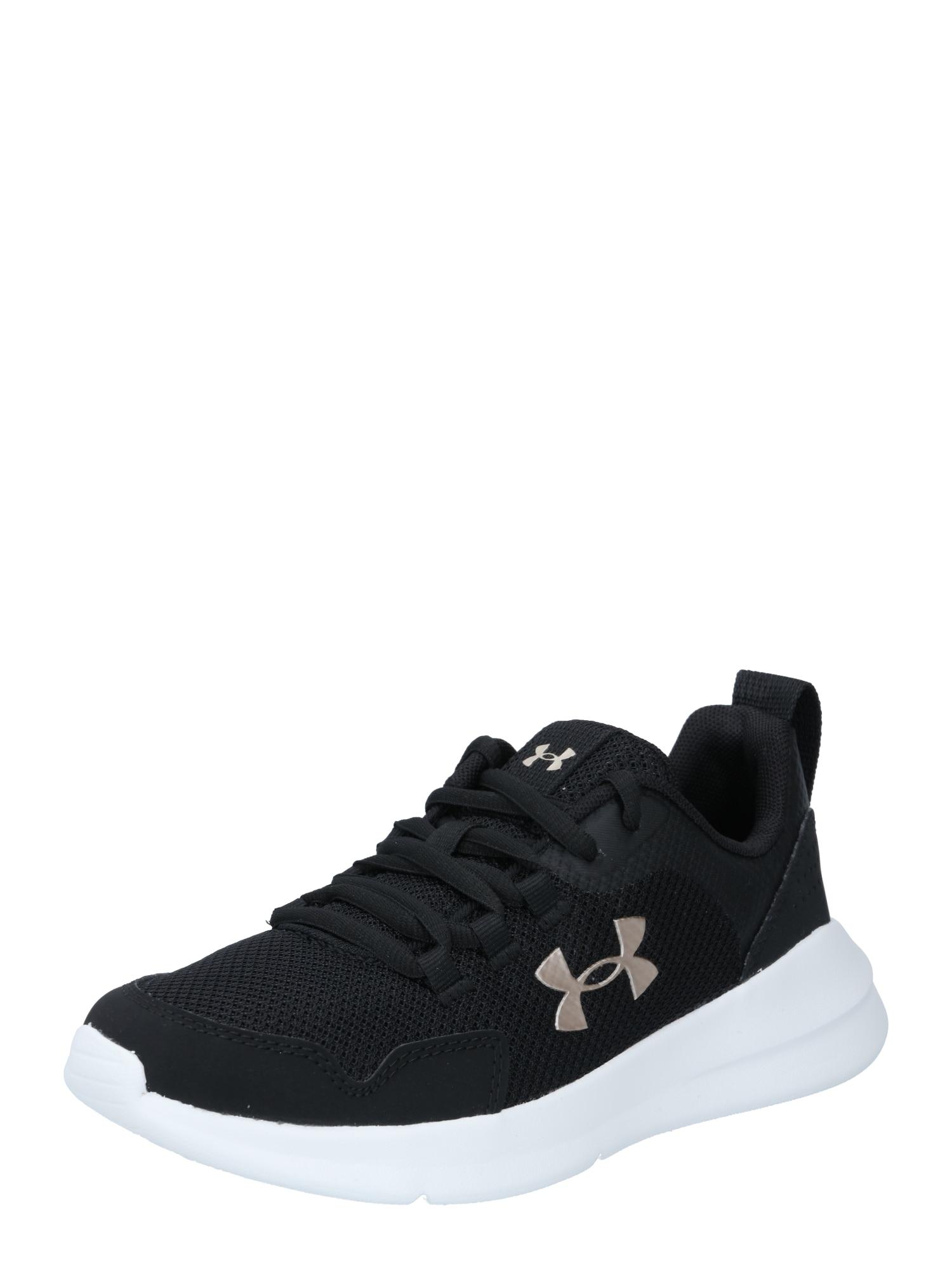 UNDER ARMOUR Sportiniai batai ' GGS Essential' juoda / smėlio