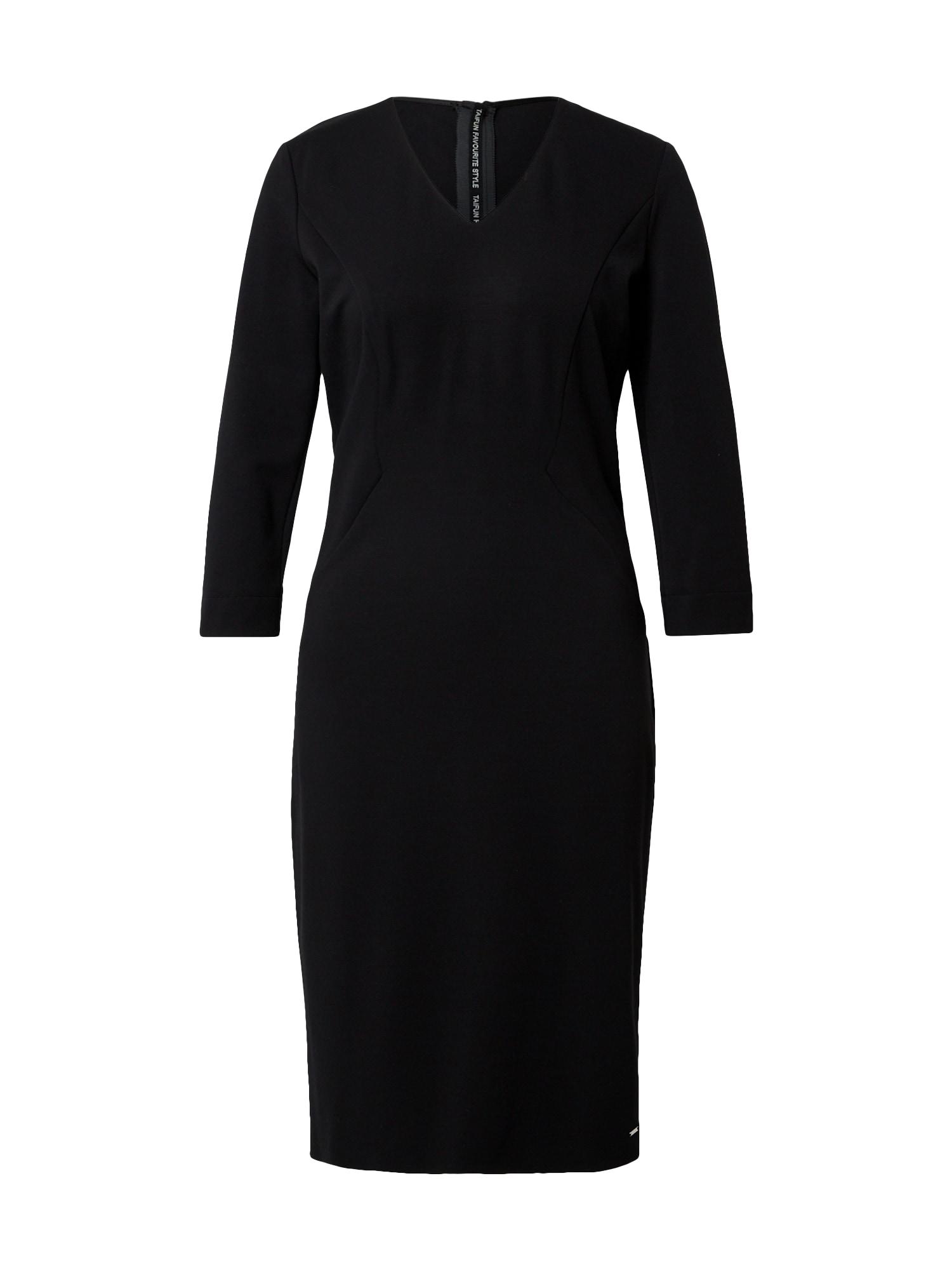 TAIFUN Suknelė juoda