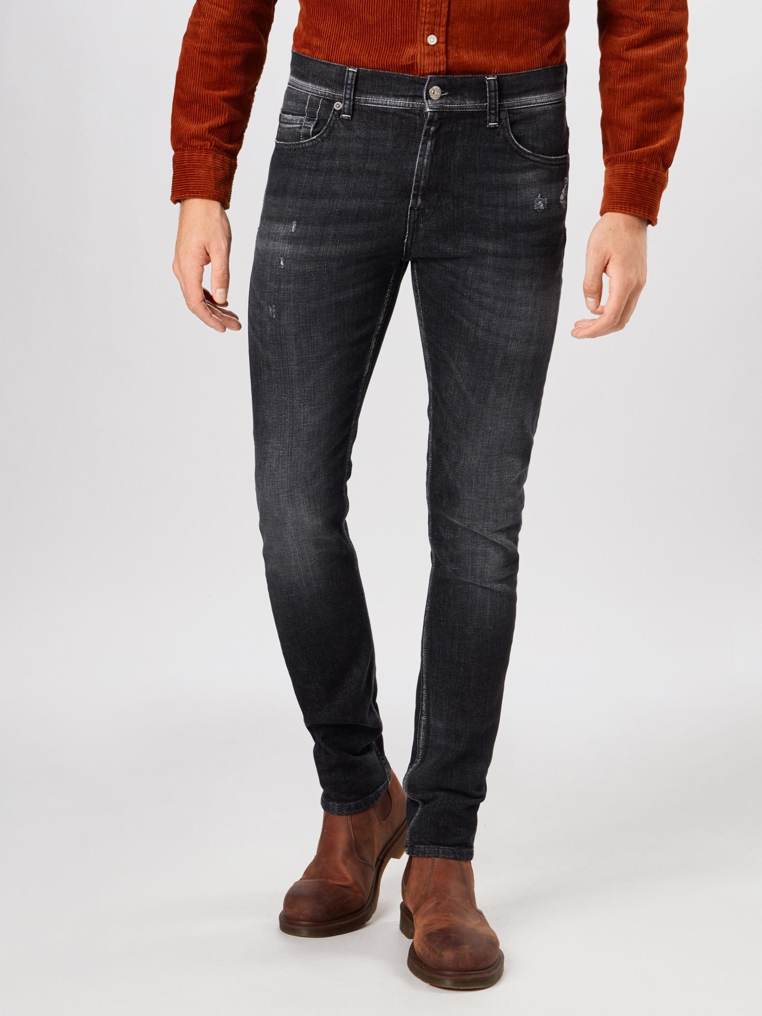 7 for all mankind Jeans 'Ronnie'  svart denim