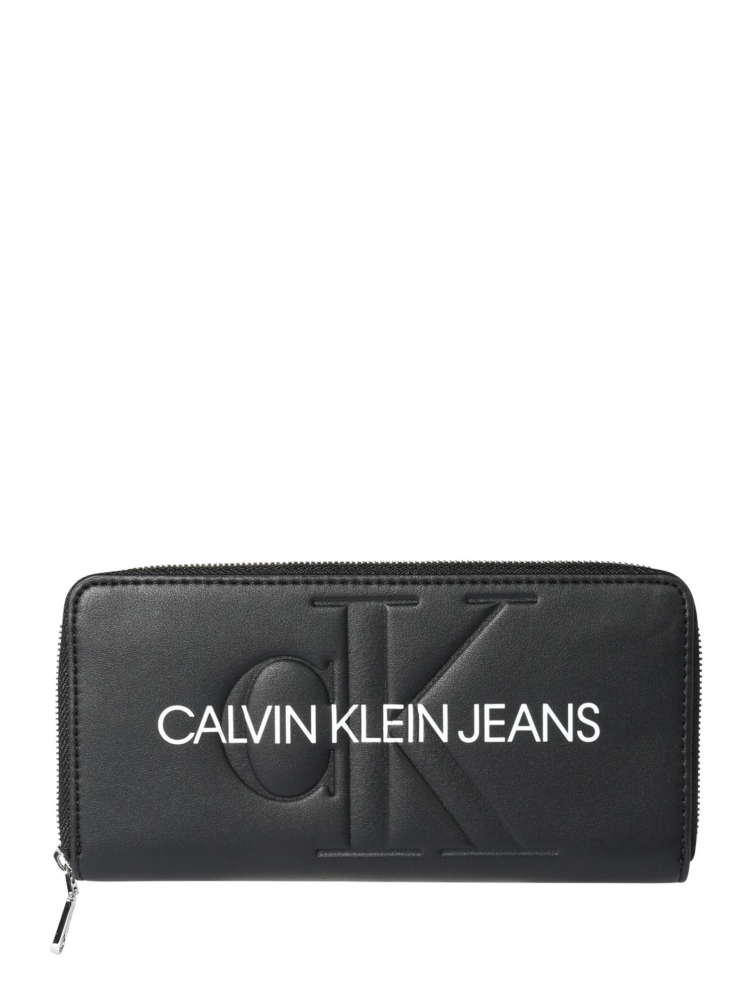 Calvin Klein Jeans Peněženka  černá / bílá