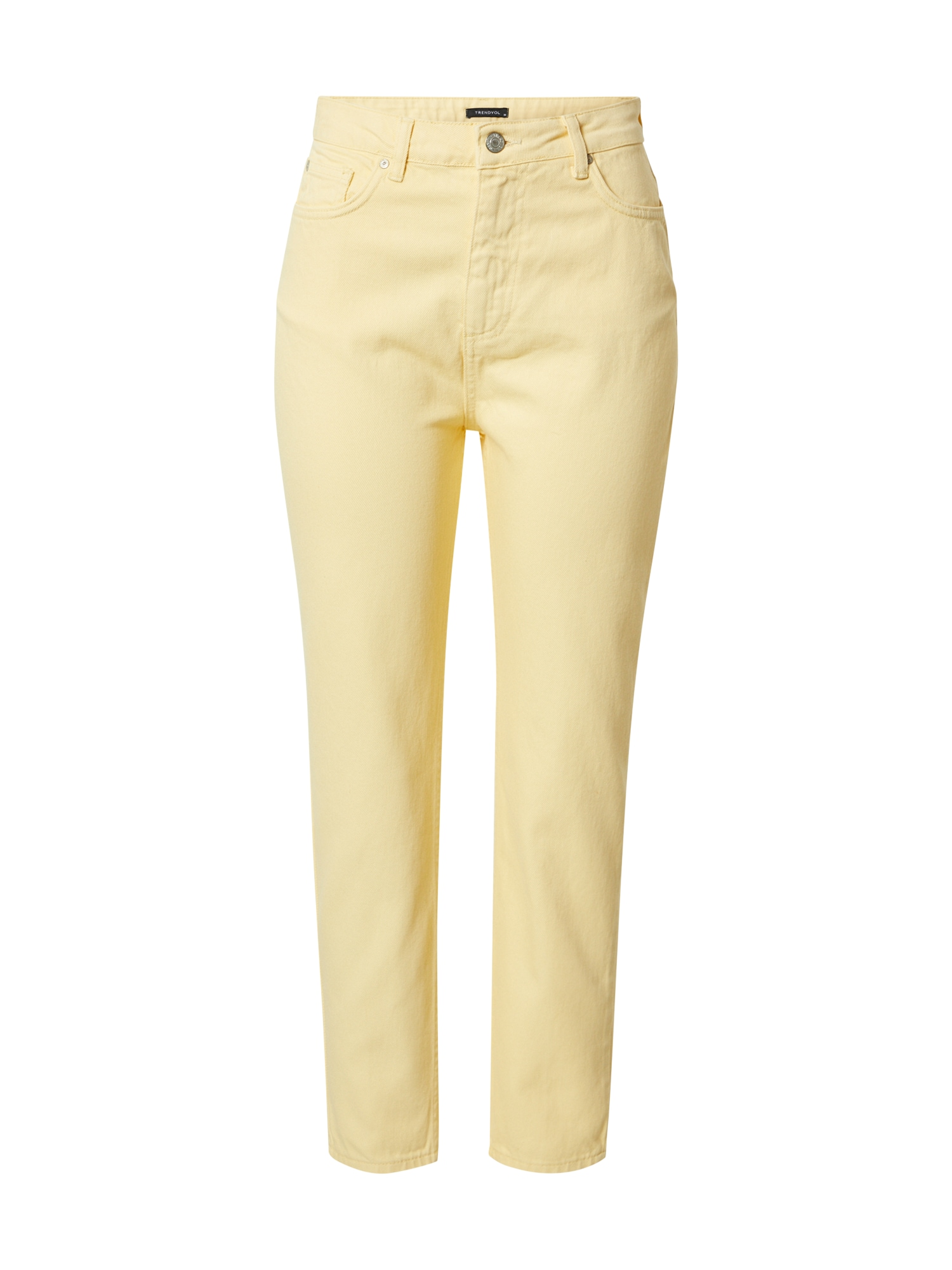 Trendyol Džinsai šviesiai geltona