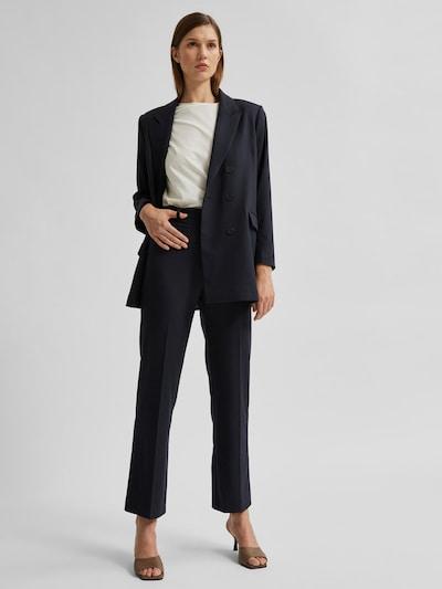 Selected Femme Rebina High Waist Wide Leg Tailored Trousers