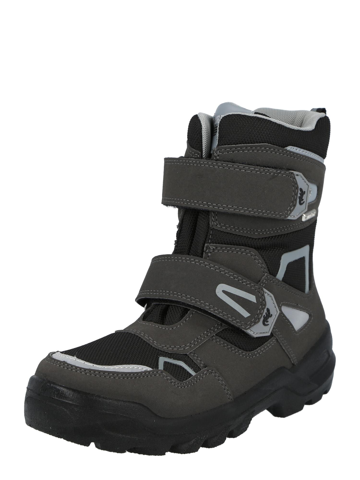 LURCHI Sniego batai 'KASPAR-SYMPATEX' pilka / juoda / šviesiai pilka