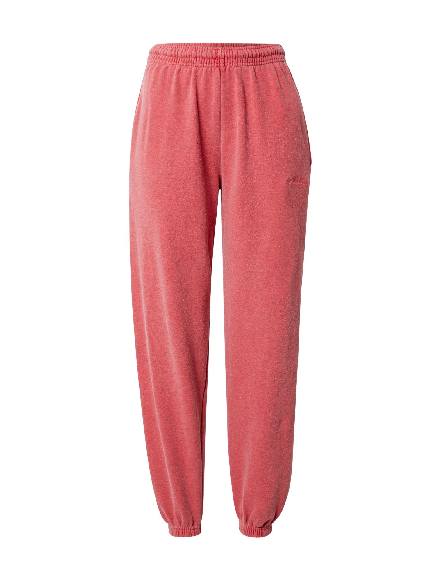 BDG Urban Outfitters Kelnės šviesiai raudona