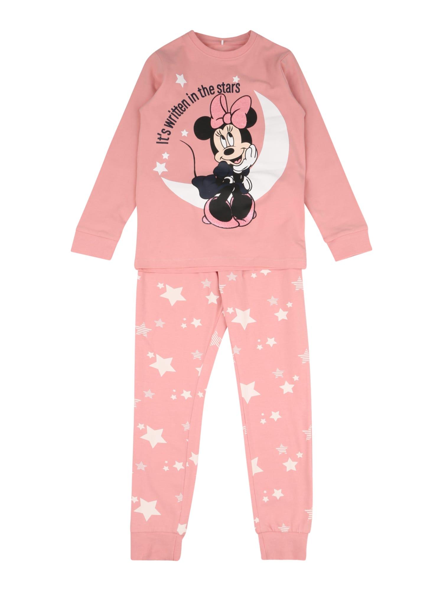 NAME IT Miego kostiumas rožinė