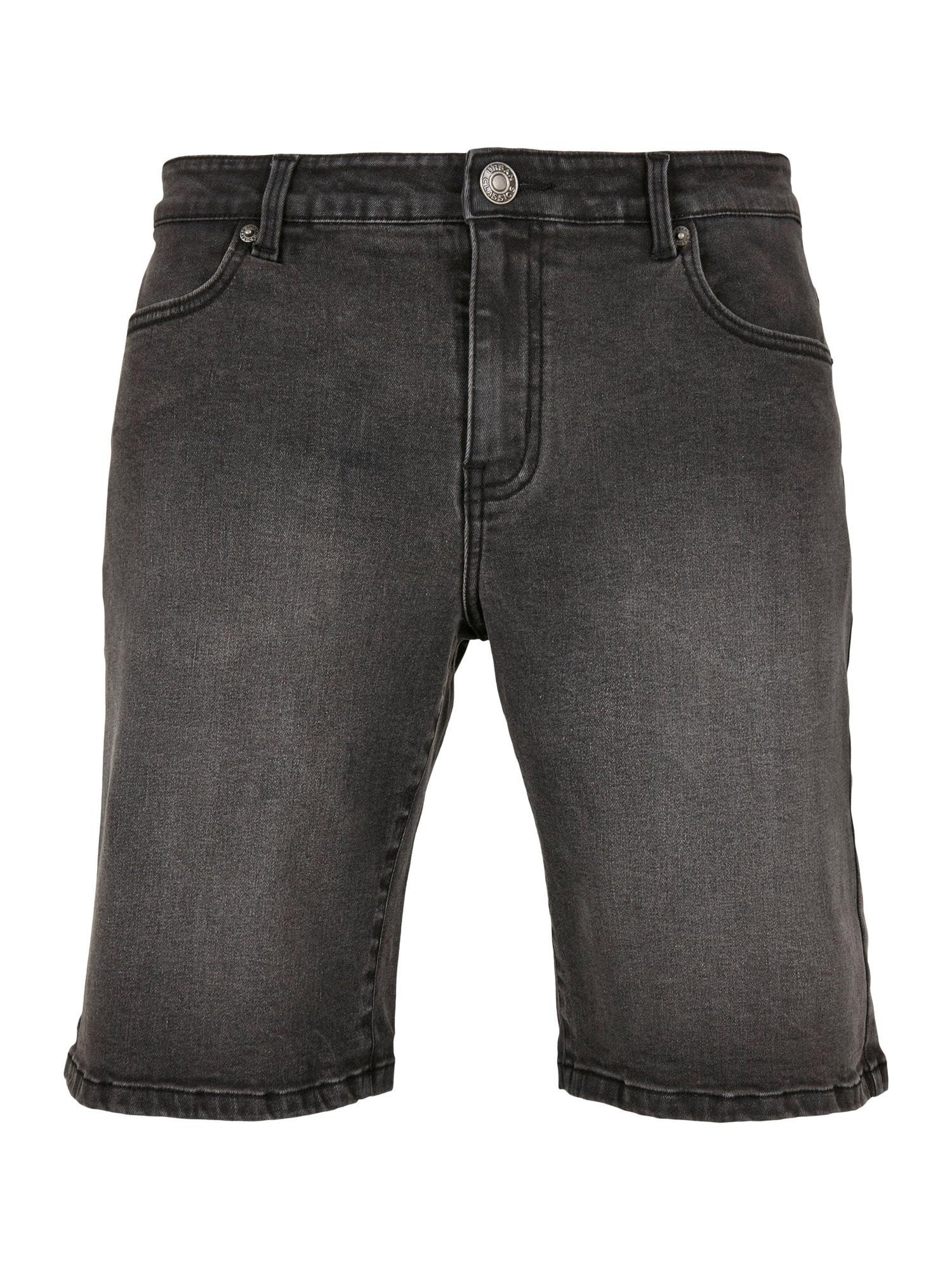 Urban Classics Big & Tall Džinsai juodo džinso spalva