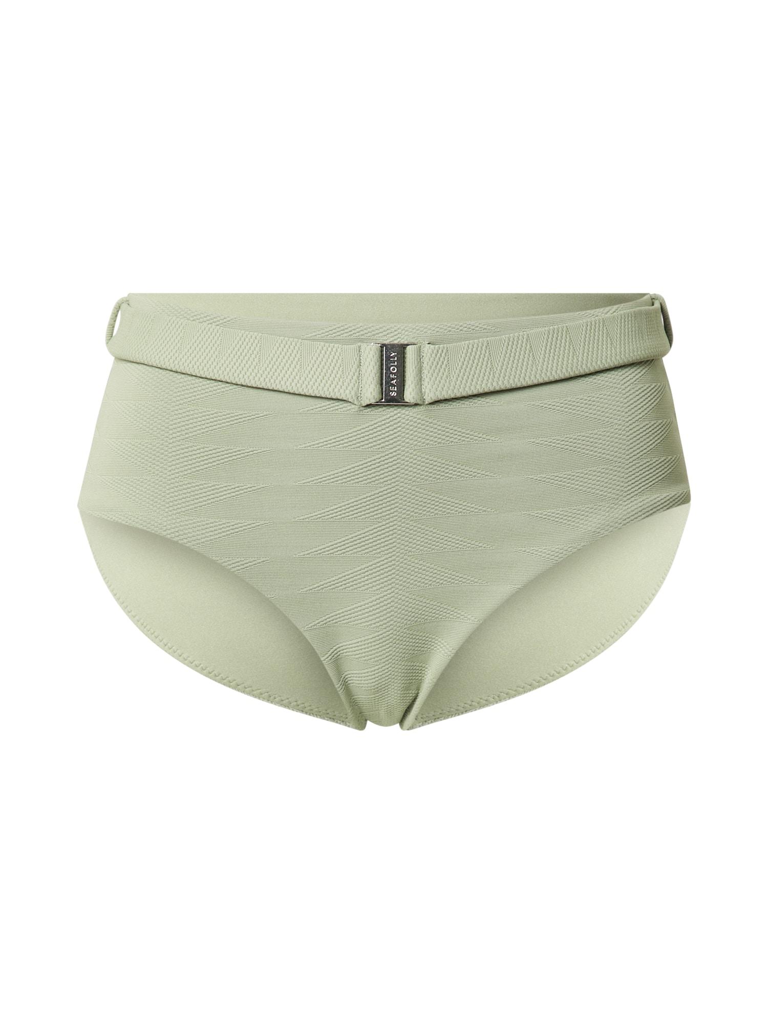 Seafolly Bikinio kelnaitės šviesiai žalia