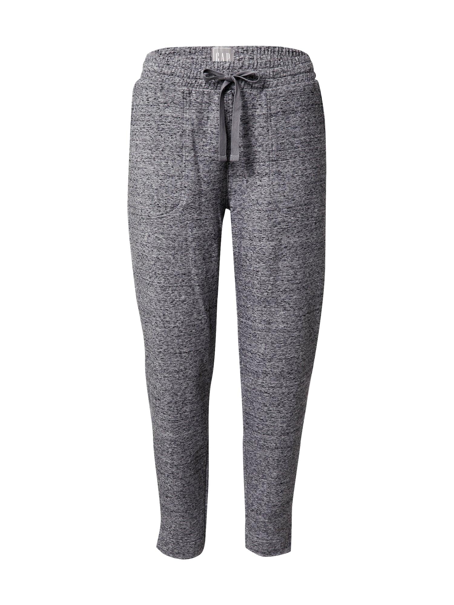 GAP Kalhoty 'Easy'  šedá / černá
