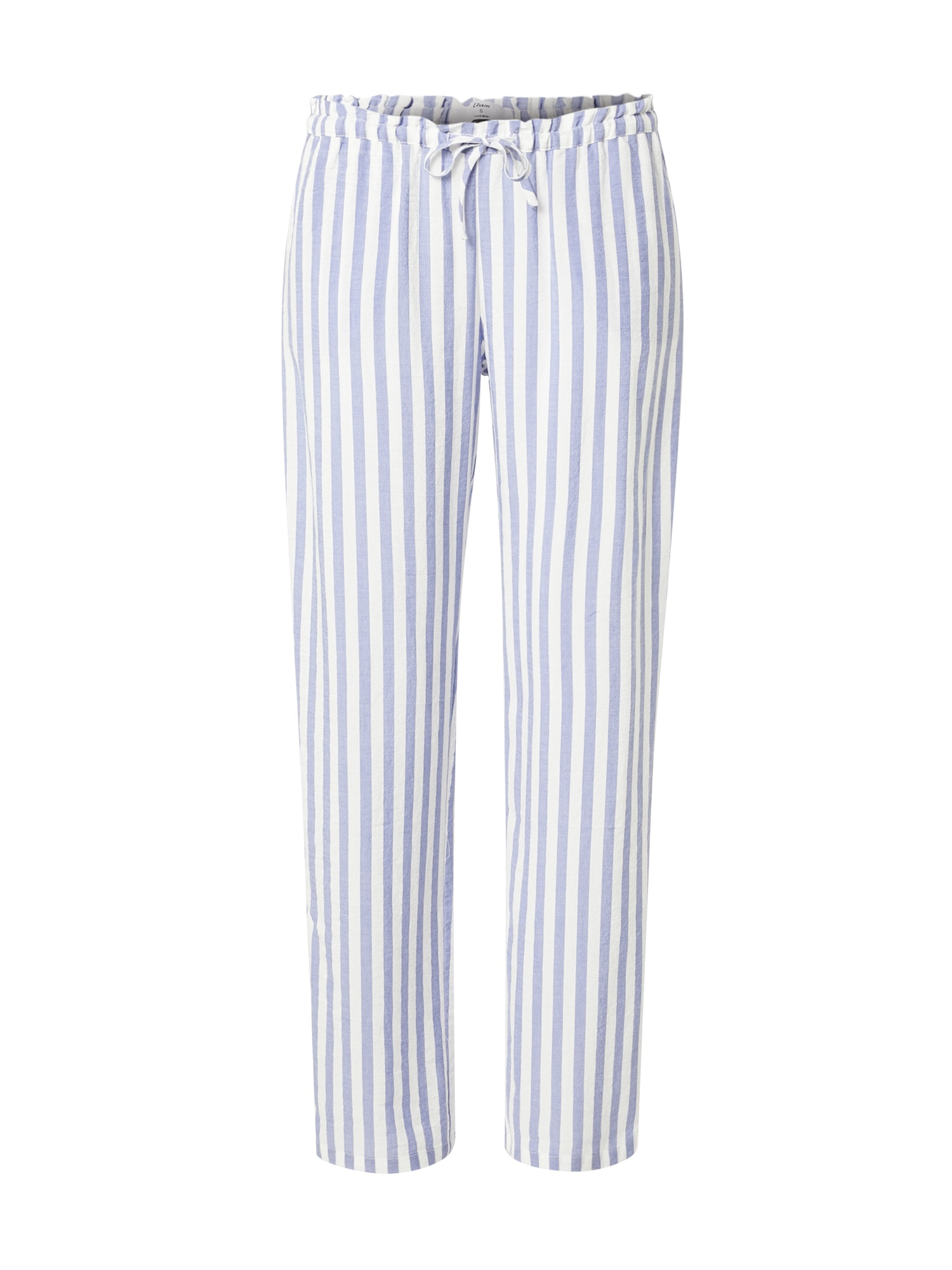 ETAM Pyžamové kalhoty 'LENITA'  modrá / bílá