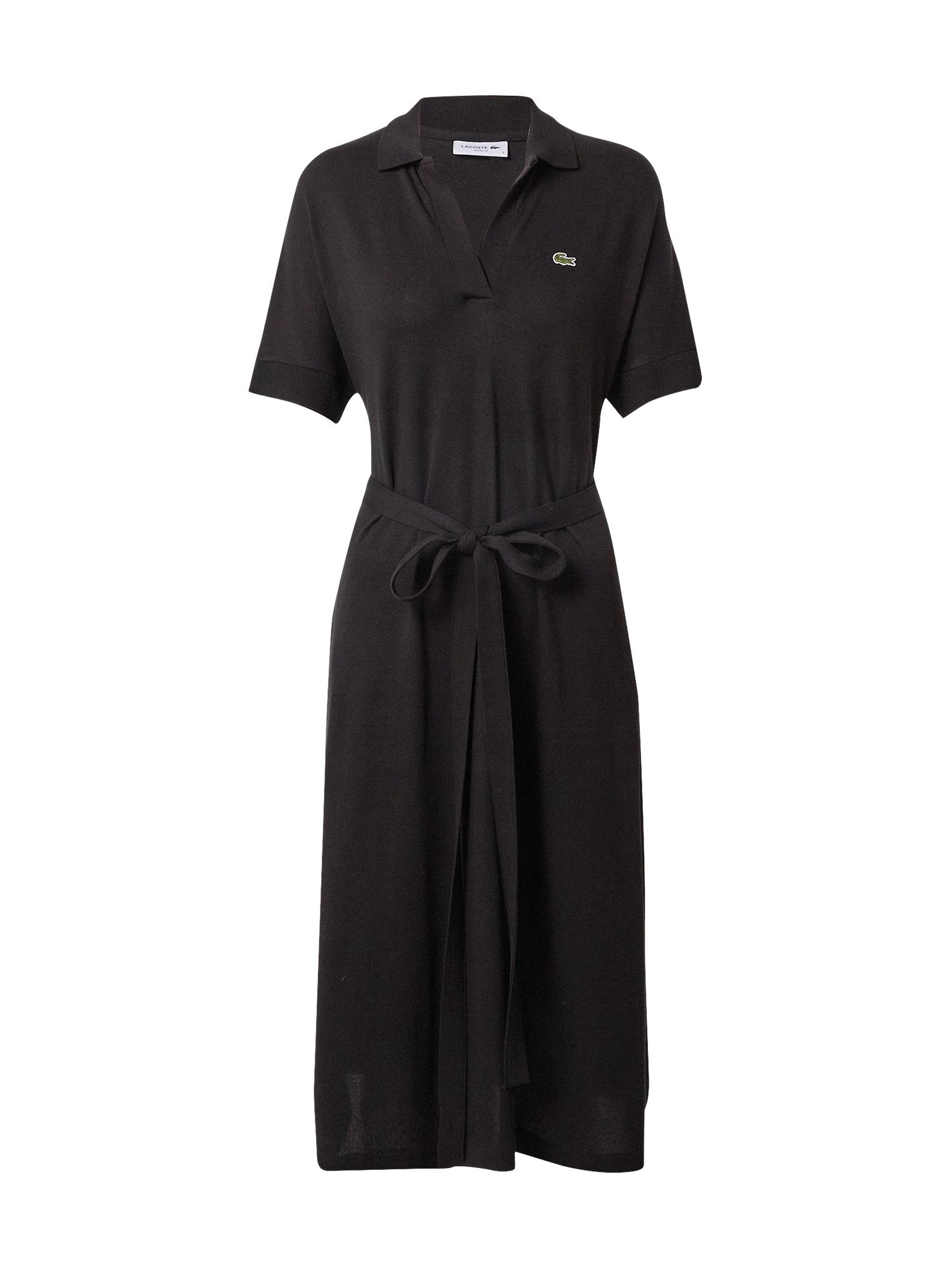 LACOSTE Palaidinės tipo suknelė juoda