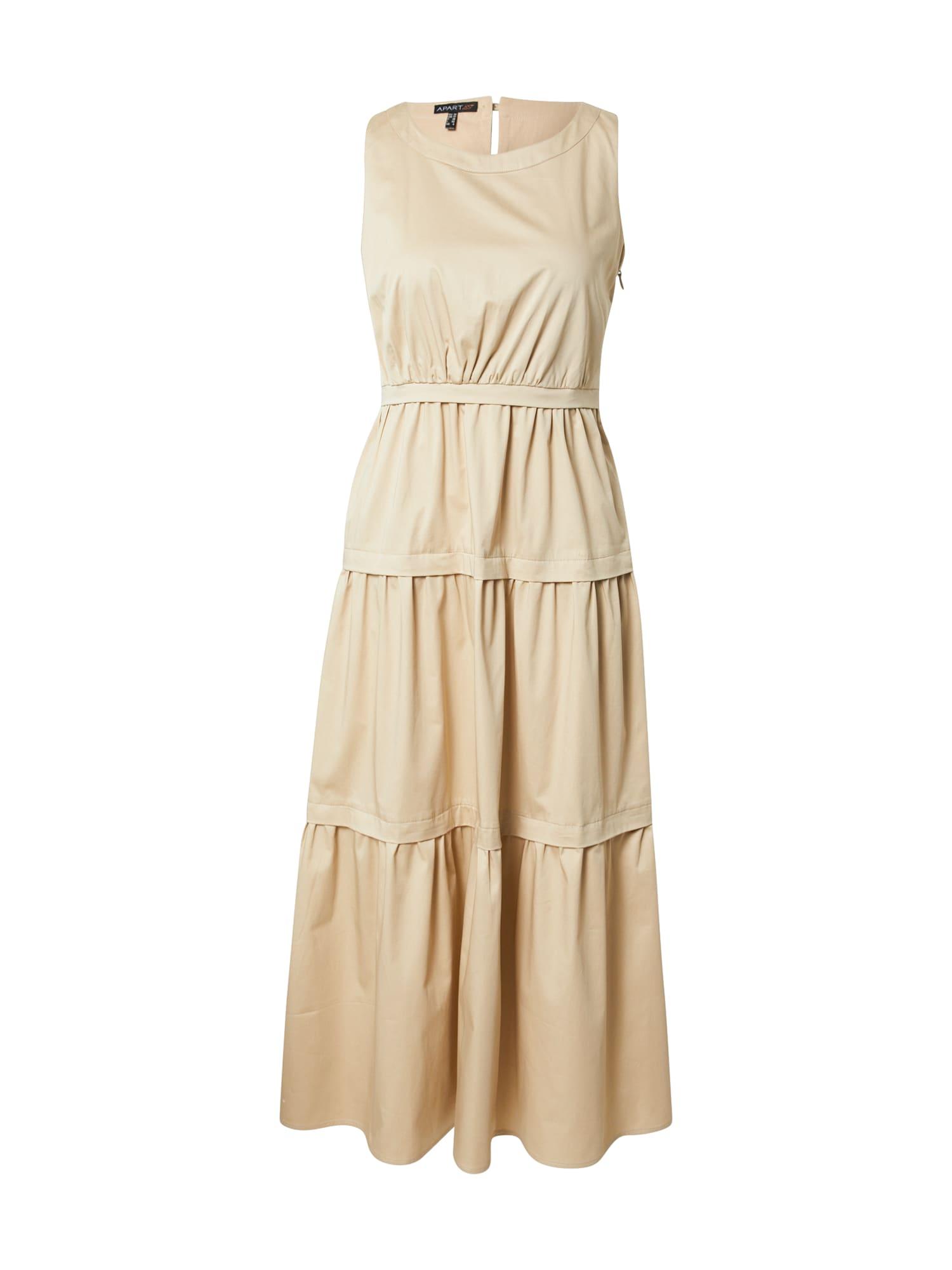 APART Vasarinė suknelė smėlio