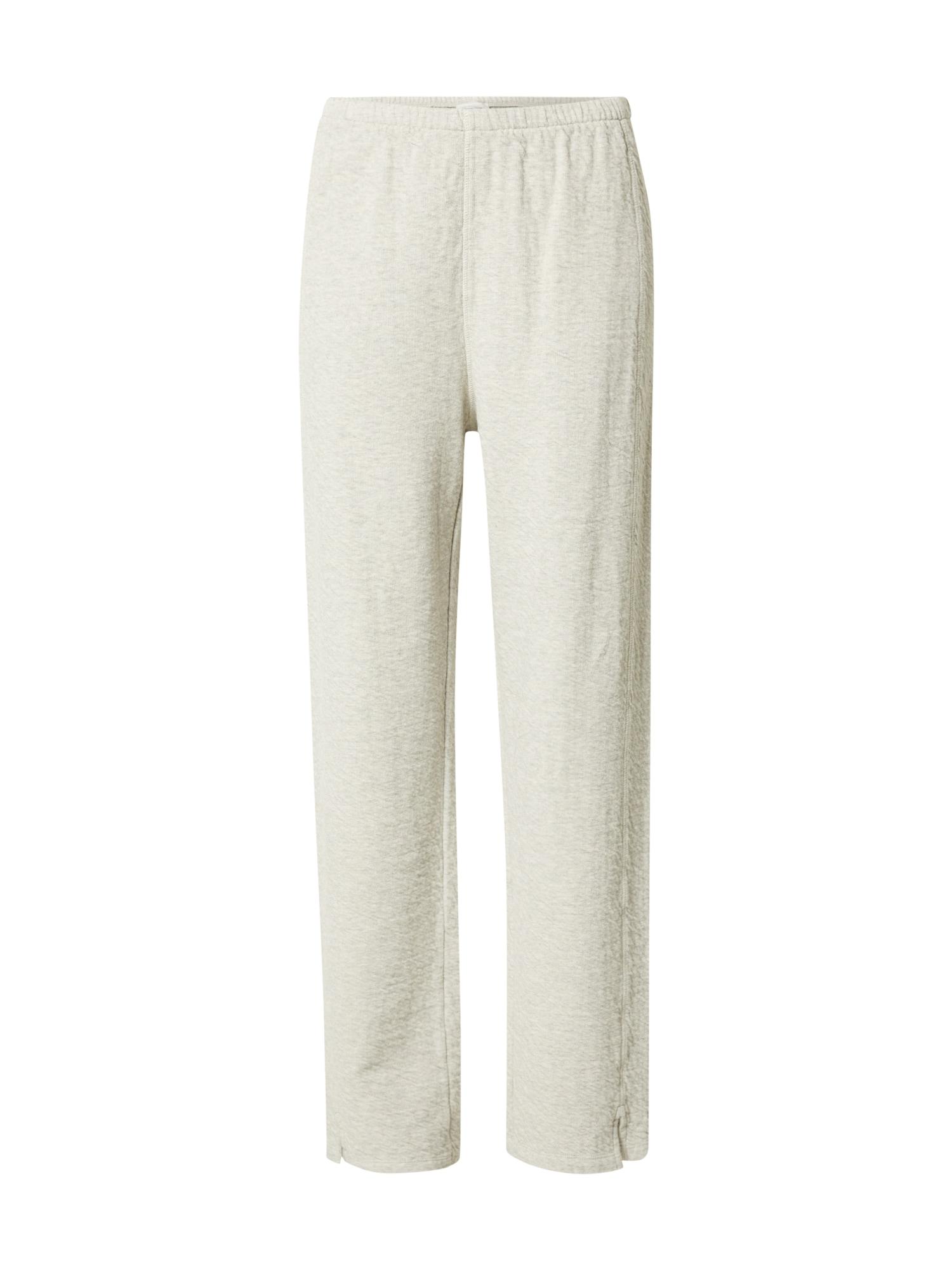 AMERICAN VINTAGE Kalhoty 'Yatcastle'  šedý melír