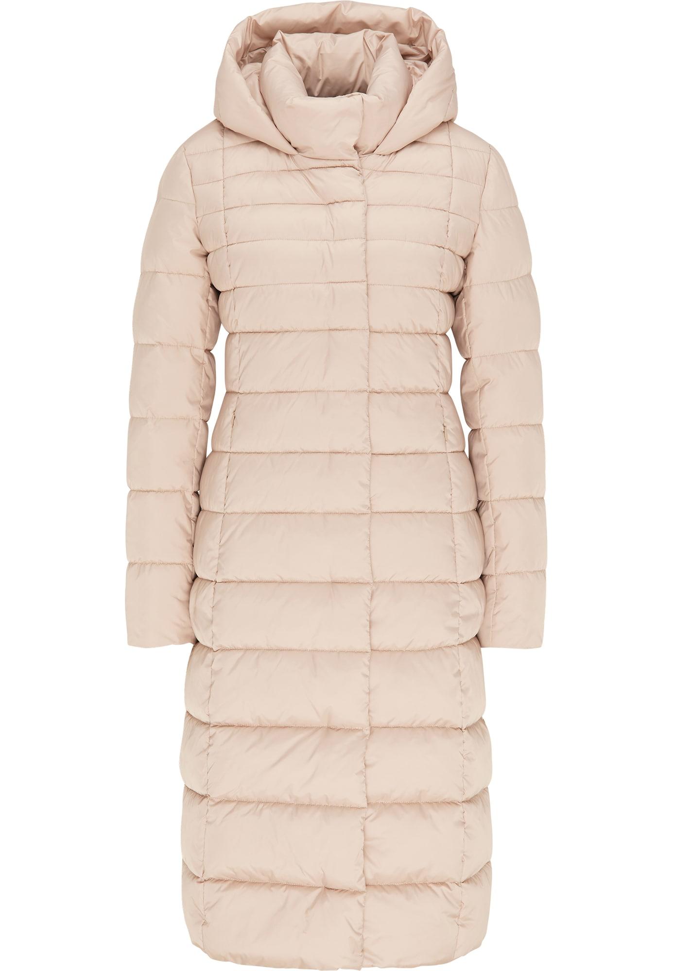 faina Žieminis paltas glaisto spalva