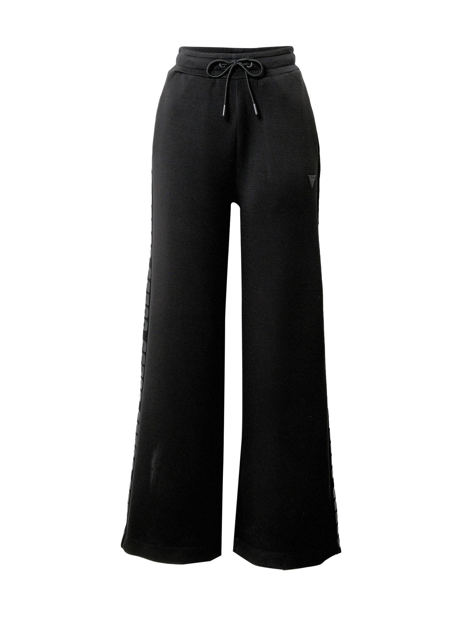 GUESS Sportinės kelnės juoda / antracito