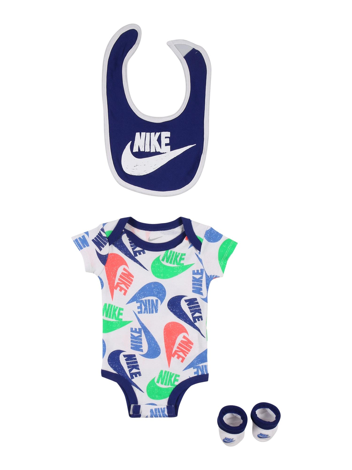 Nike Sportswear Apatinių komplektas 'MARKER' balta / tamsiai mėlyna / mišrios spalvos