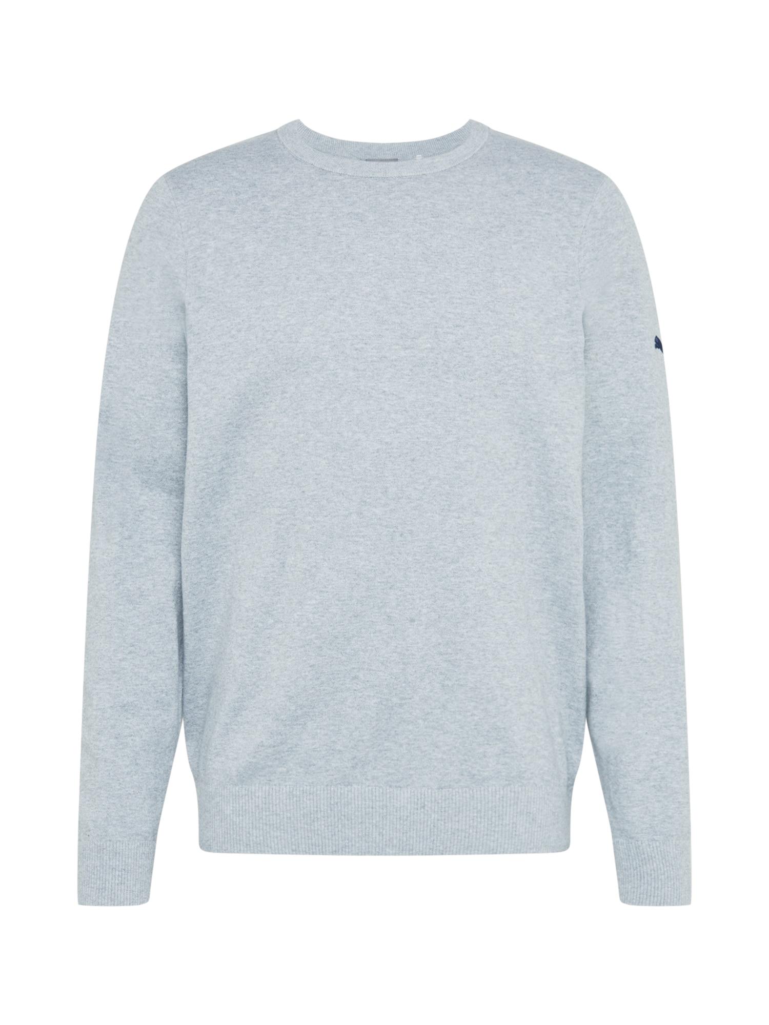 PUMA Sportinio tipo megztinis šviesiai pilka