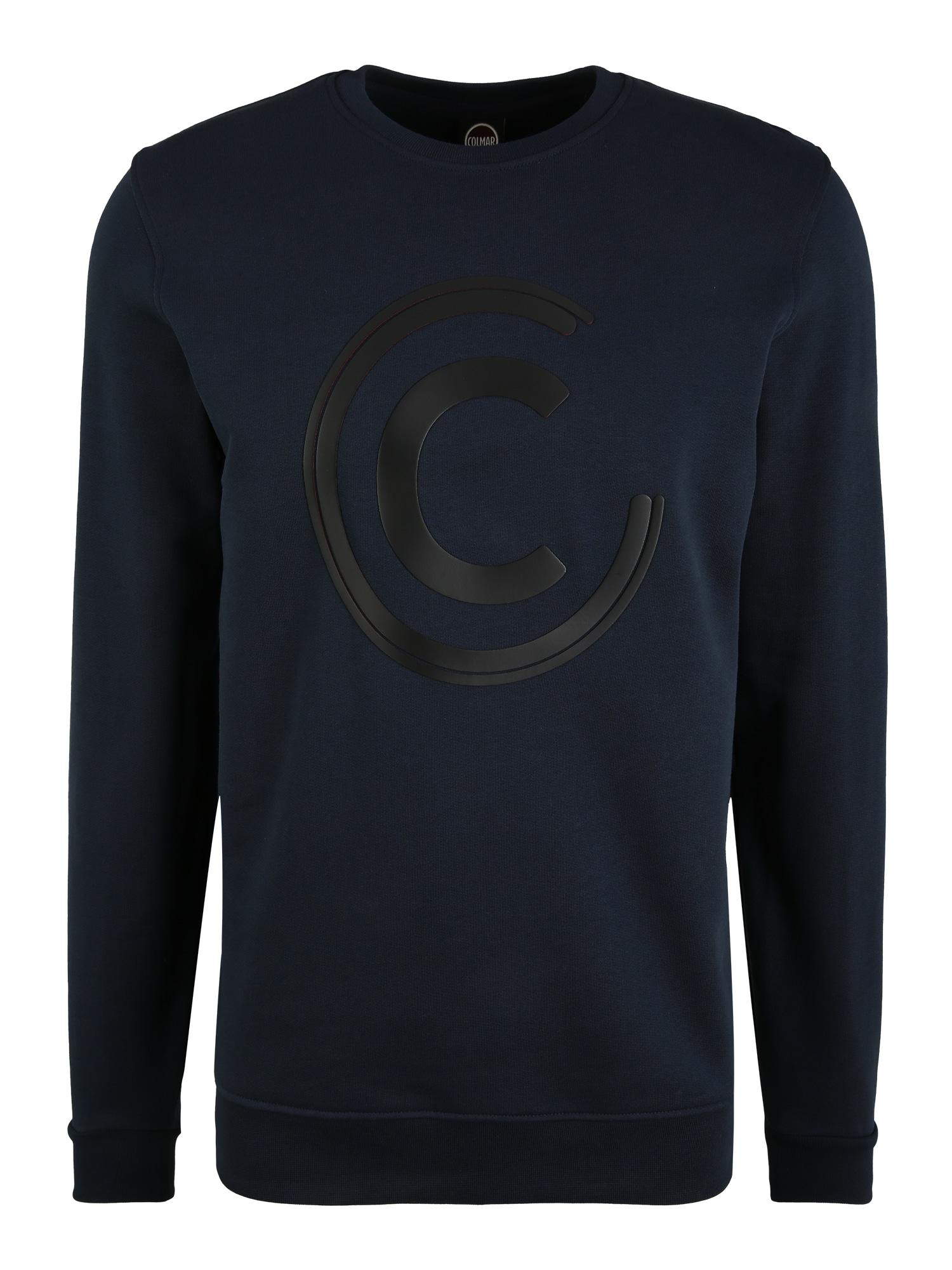 Colmar Sportovní mikina  tmavě modrá / černá