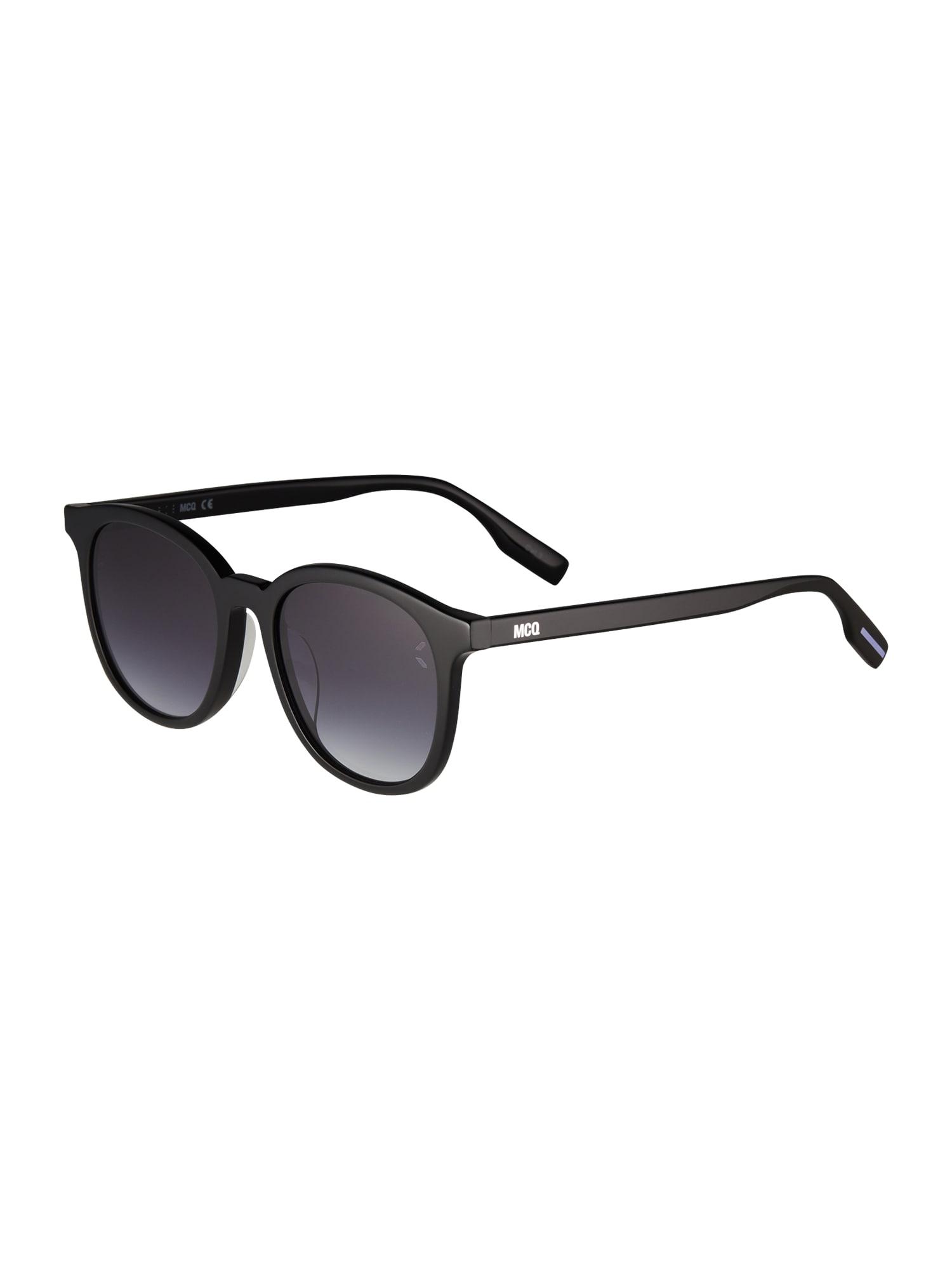 McQ Alexander McQueen Akiniai nuo saulės juoda / tamsiai pilka