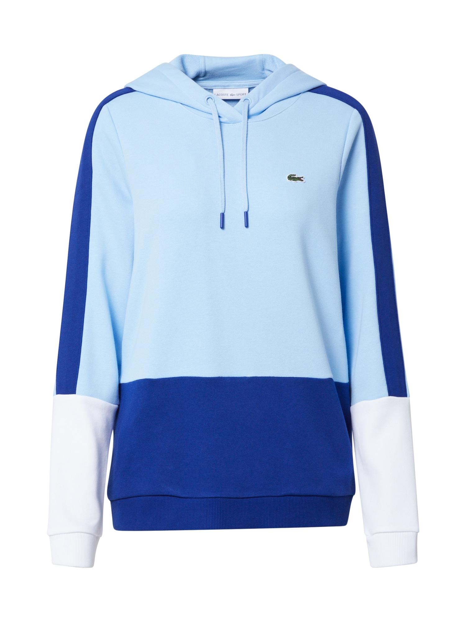 Lacoste Sport Sportinio tipo megztinis mėlyna / balta / opalo