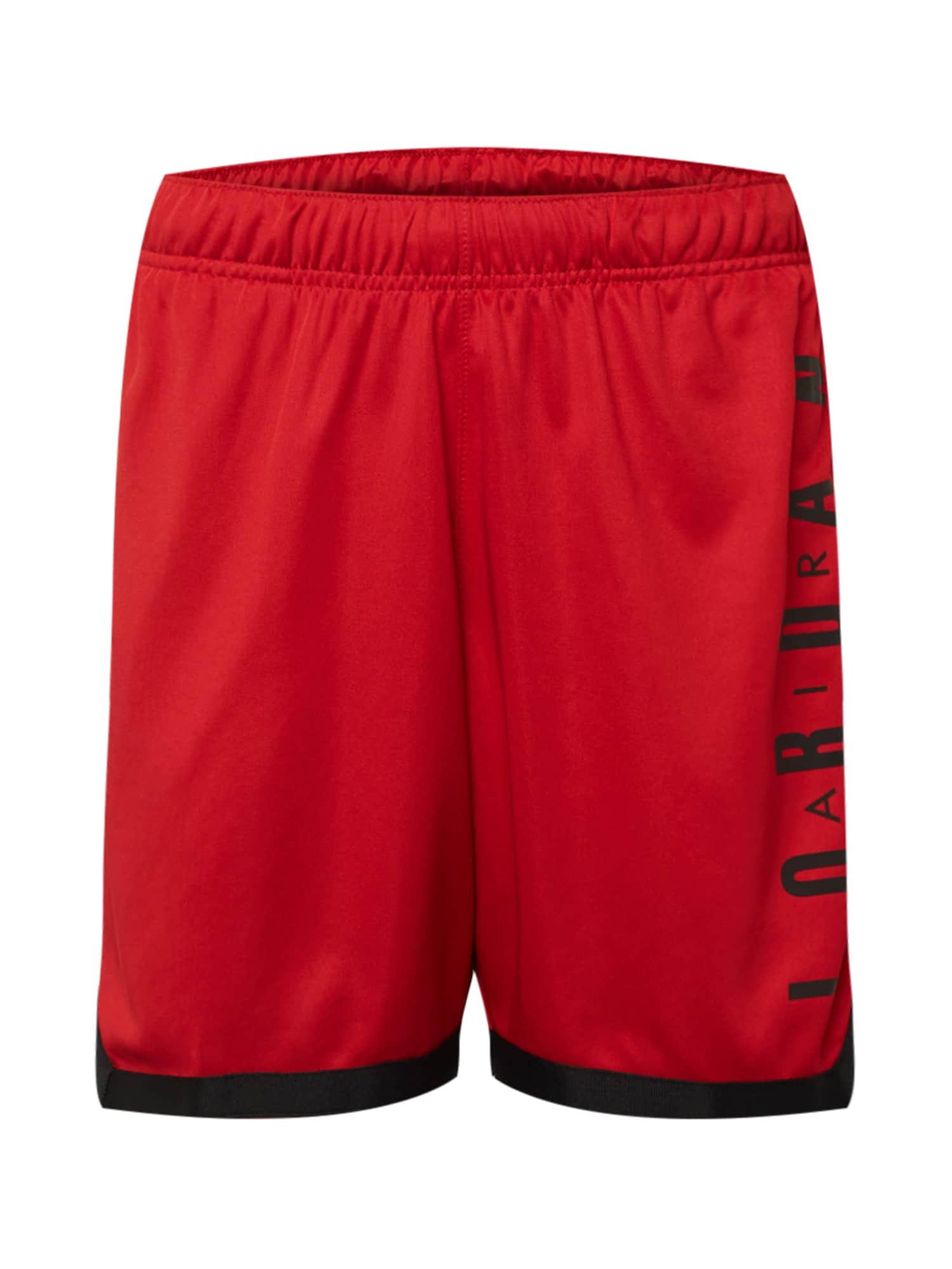 Jordan Kelnės raudona / juoda