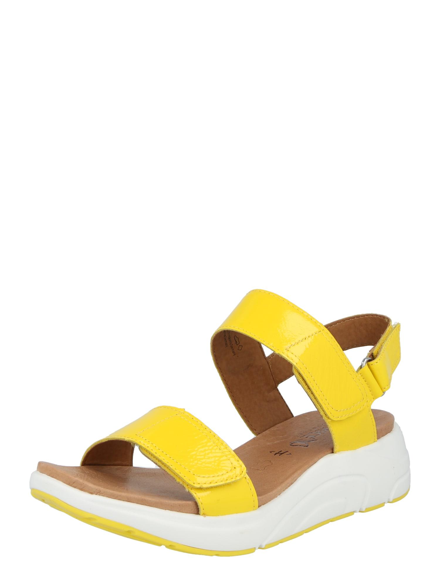 CAPRICE Sandalai geltona