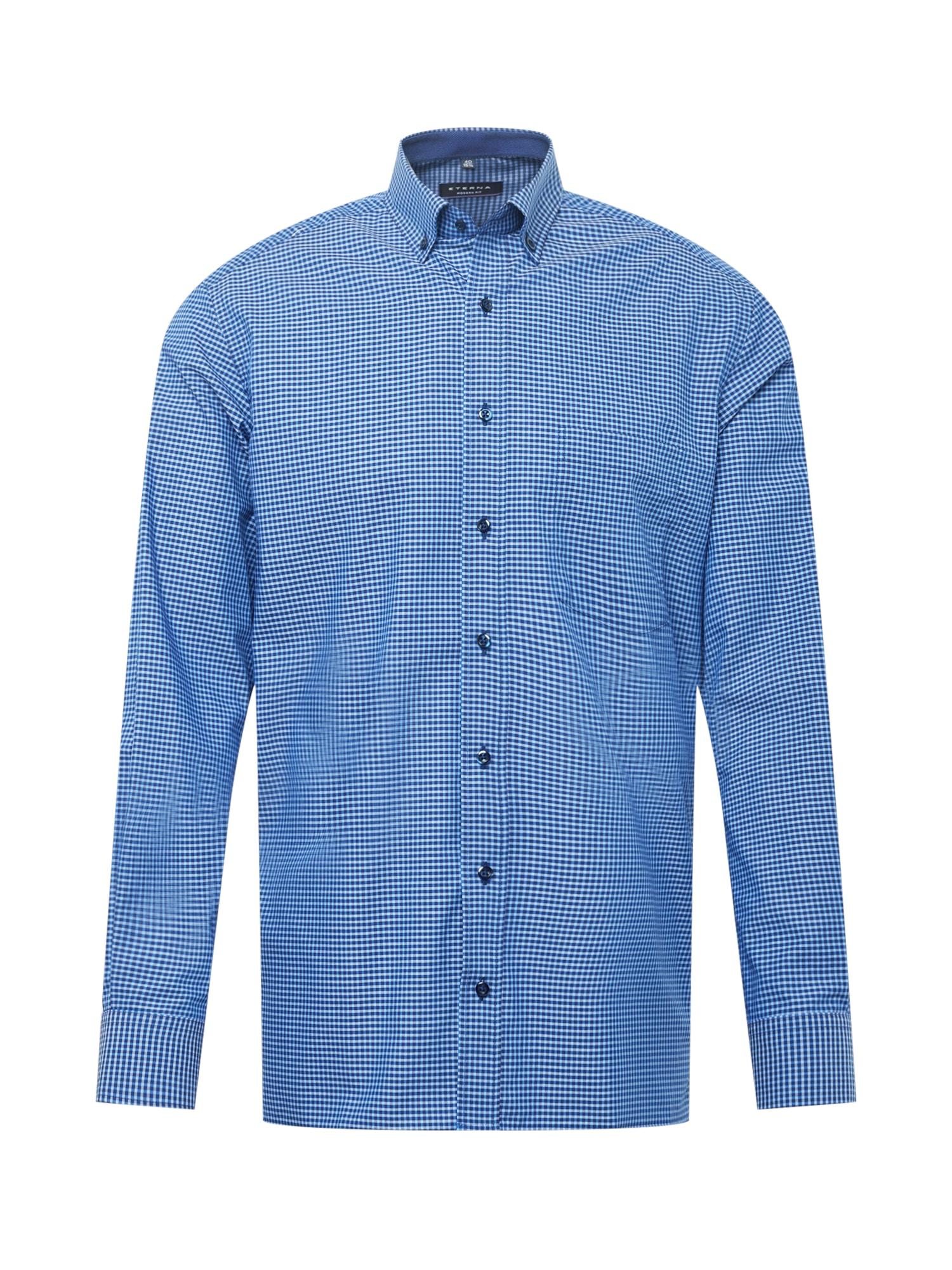 """ETERNA Dalykinio stiliaus marškiniai sodri mėlyna (""""karališka"""") / mėlyna"""