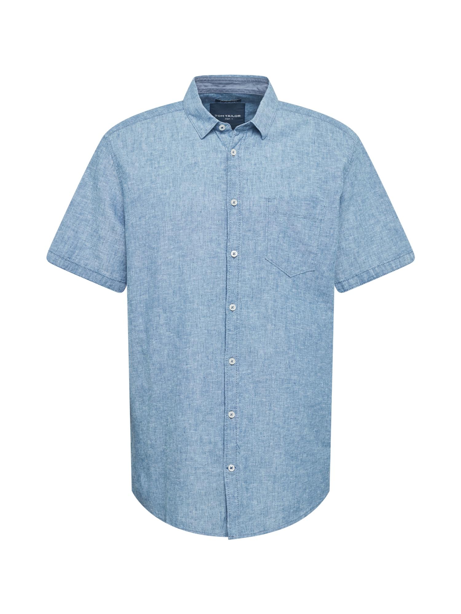 TOM TAILOR Men + Marškiniai mėlyna