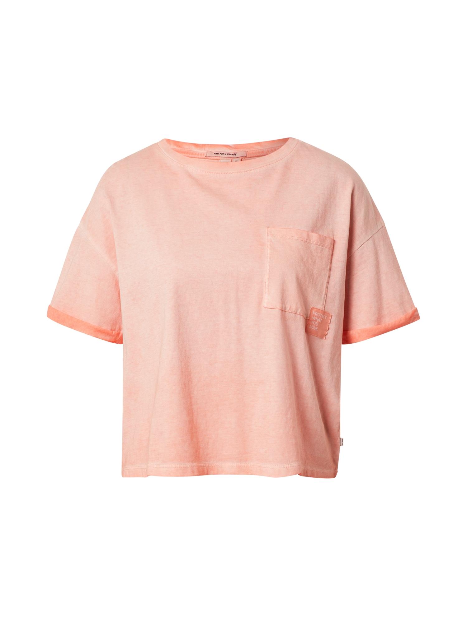 Q/S designed by Laisvi marškinėliai abrikosų spalva