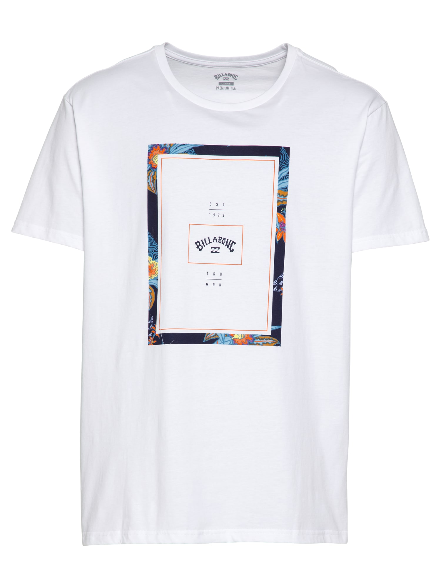 BILLABONG Marškinėliai balta / mišrios spalvos