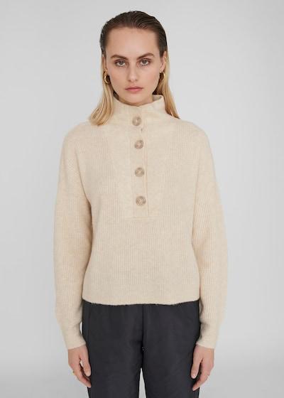 Noisy May Sonja langärmeliger Pullover mit hohem Kragen