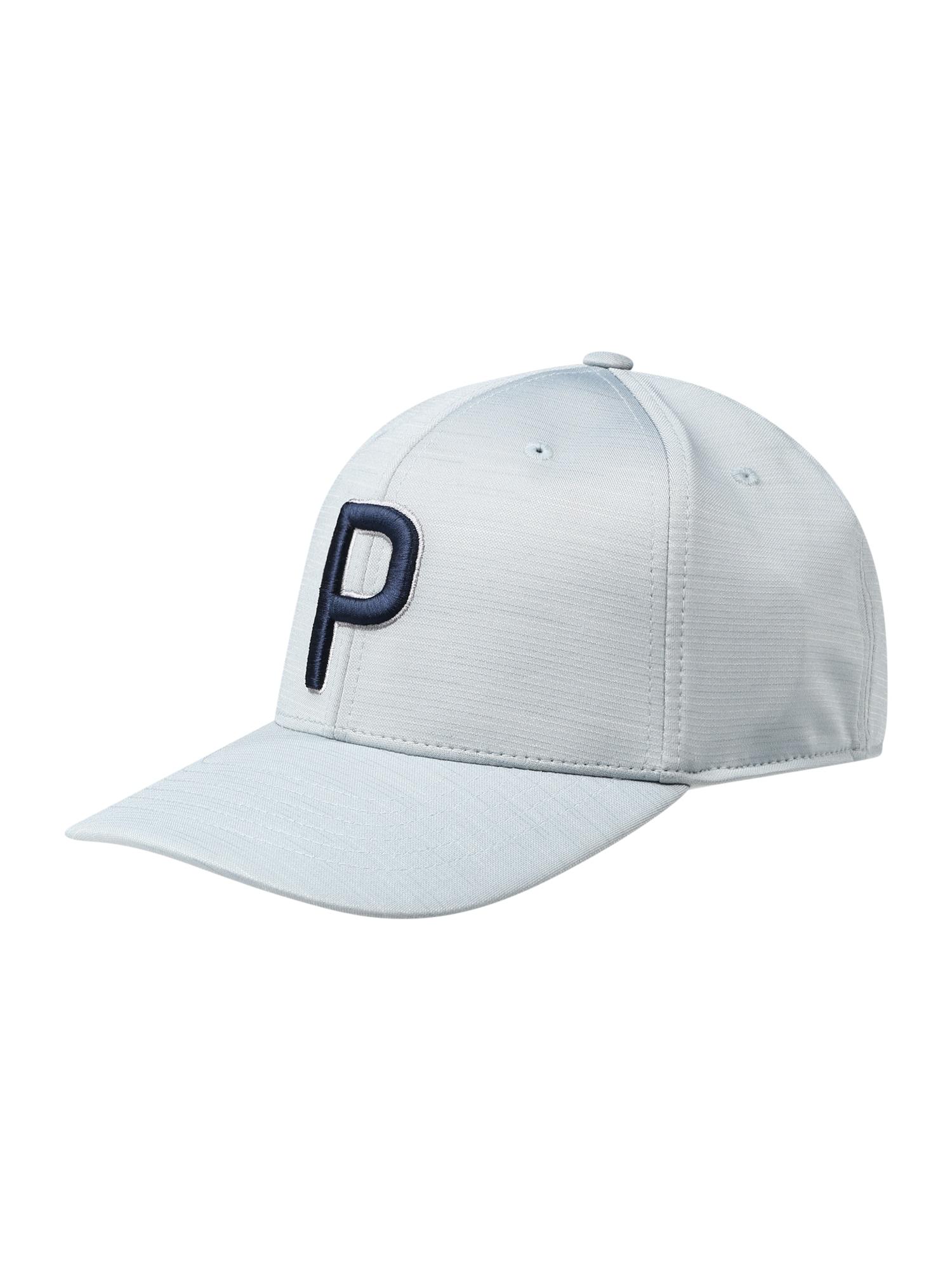 PUMA Sportinė kepurė šviesiai pilka / tamsiai mėlyna