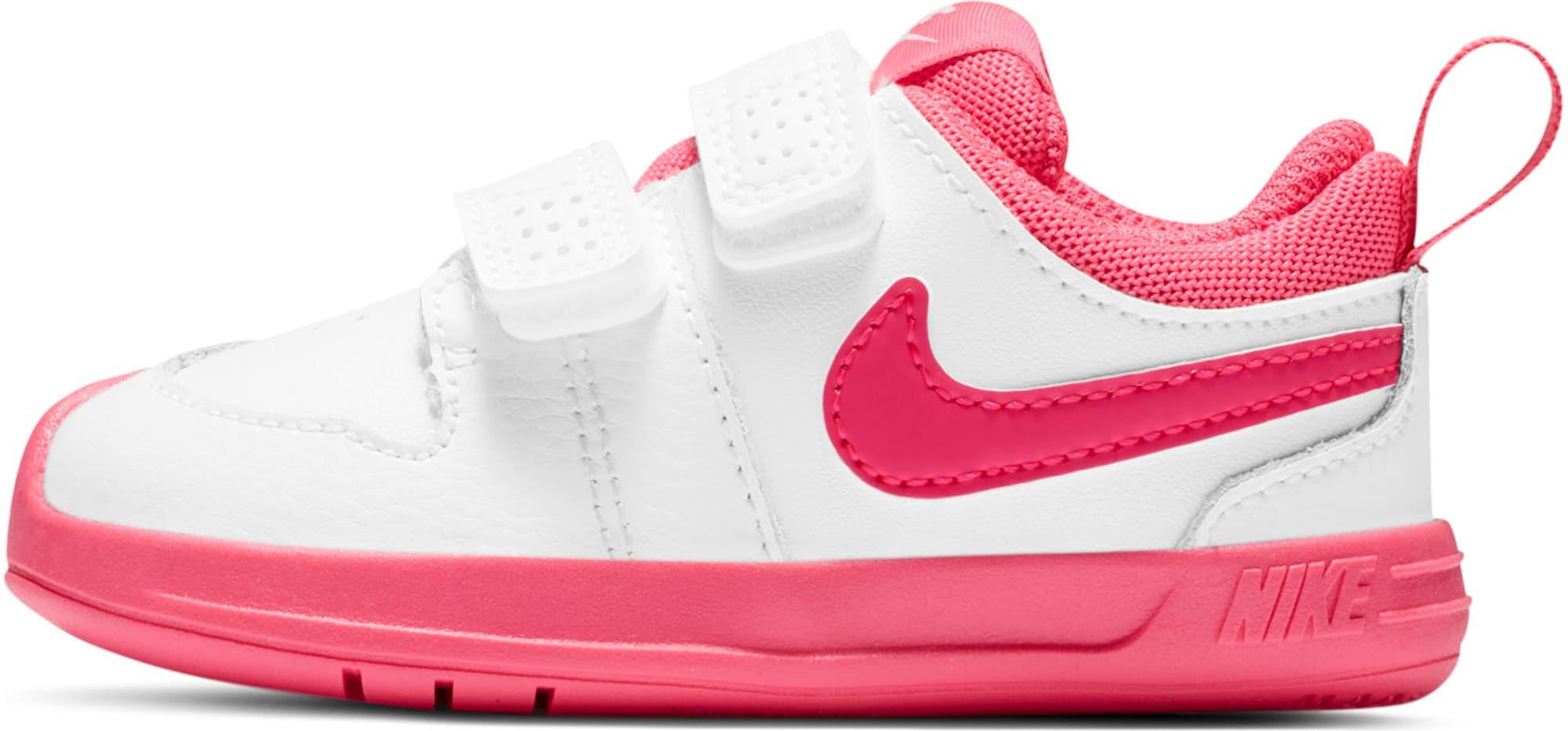 NIKE Sportiniai batai 'Pico 5' rožinė / balta