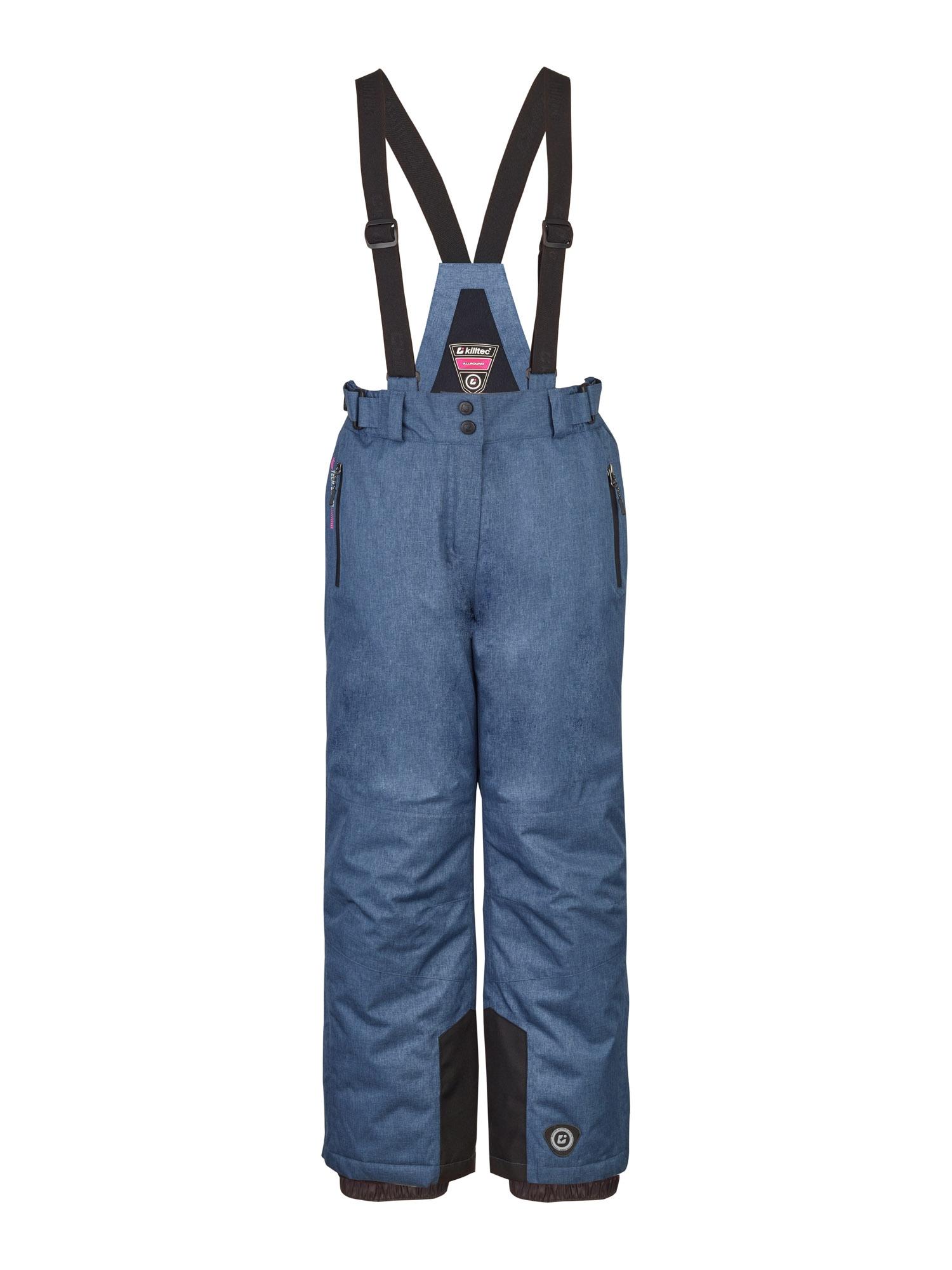 KILLTEC Outdoorové kalhoty 'Nadiana'  chladná modrá / černá