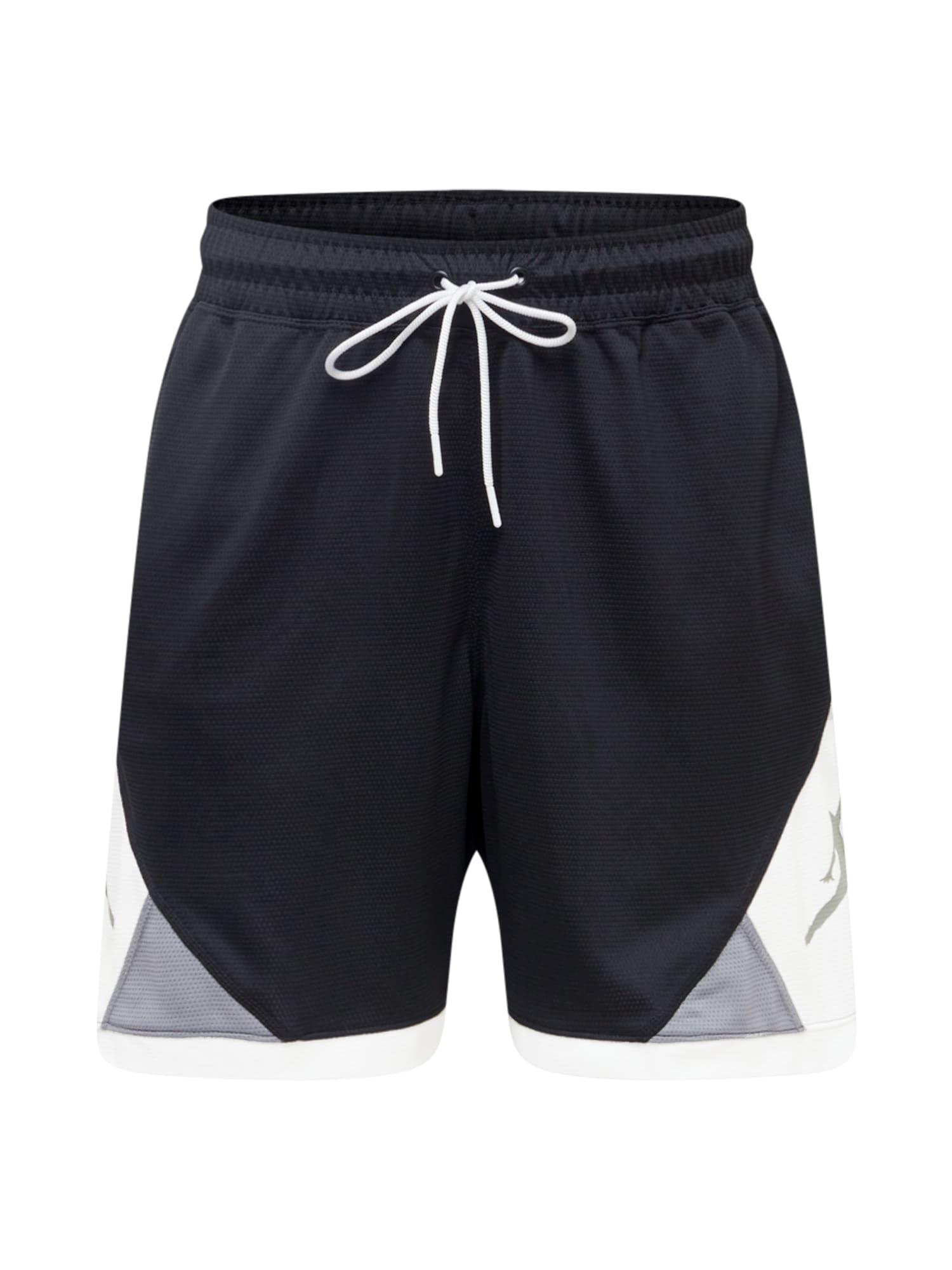 Jordan Kelnės juoda / balta / pilka
