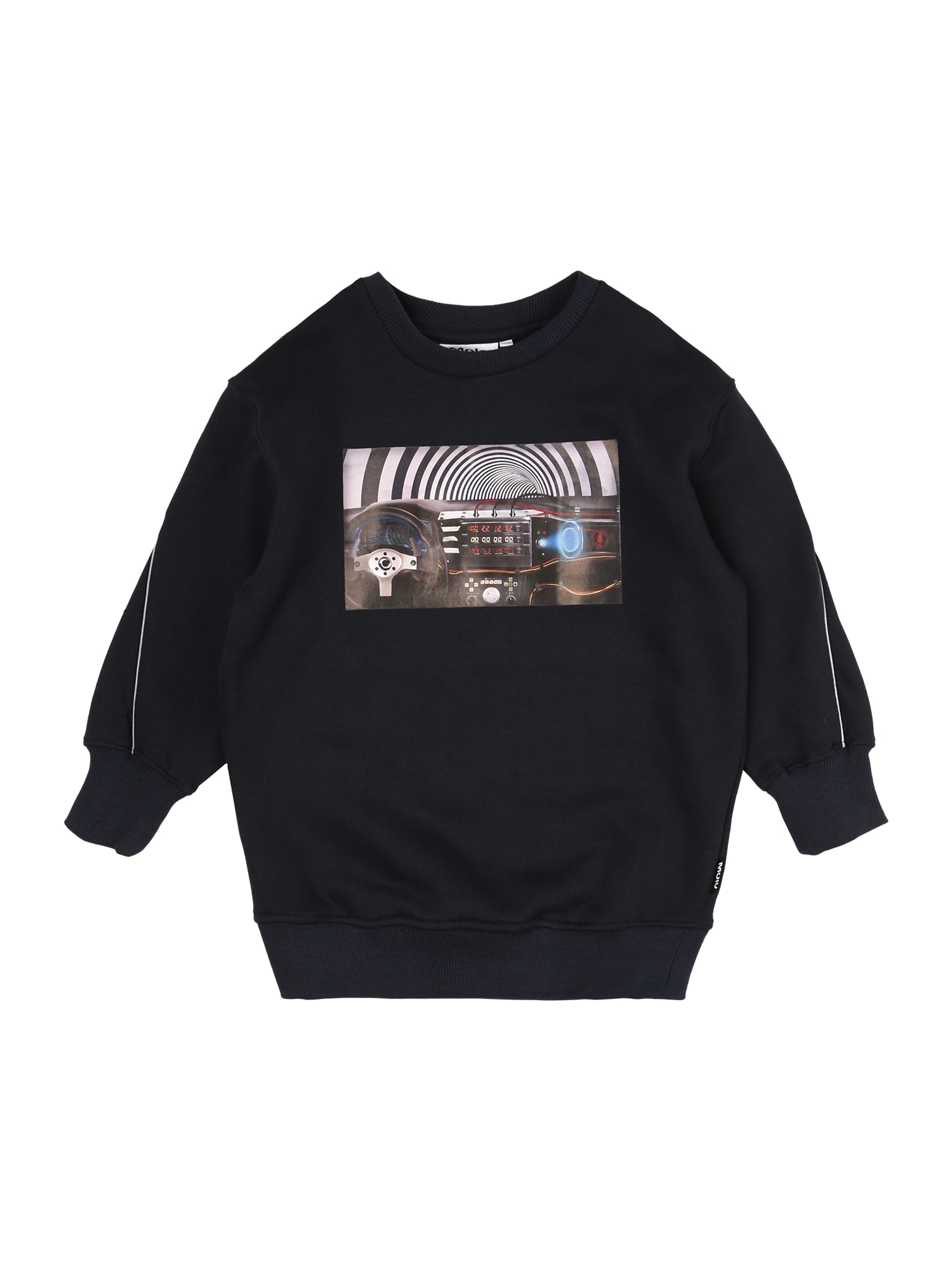 Molo Megztinis be užsegimo tamsiai mėlyna / juoda / balta