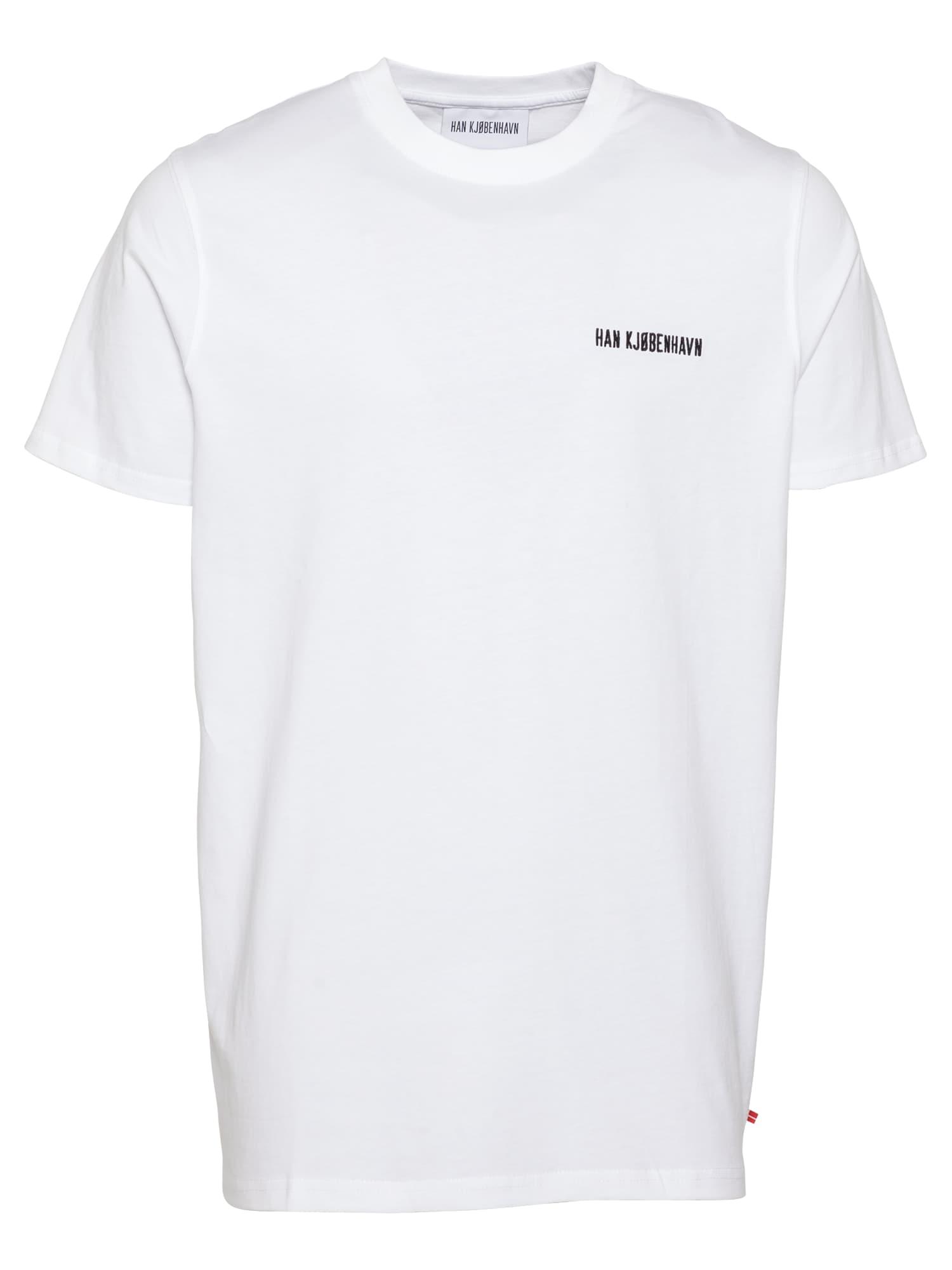 Han Kjøbenhavn Marškinėliai balta / juoda