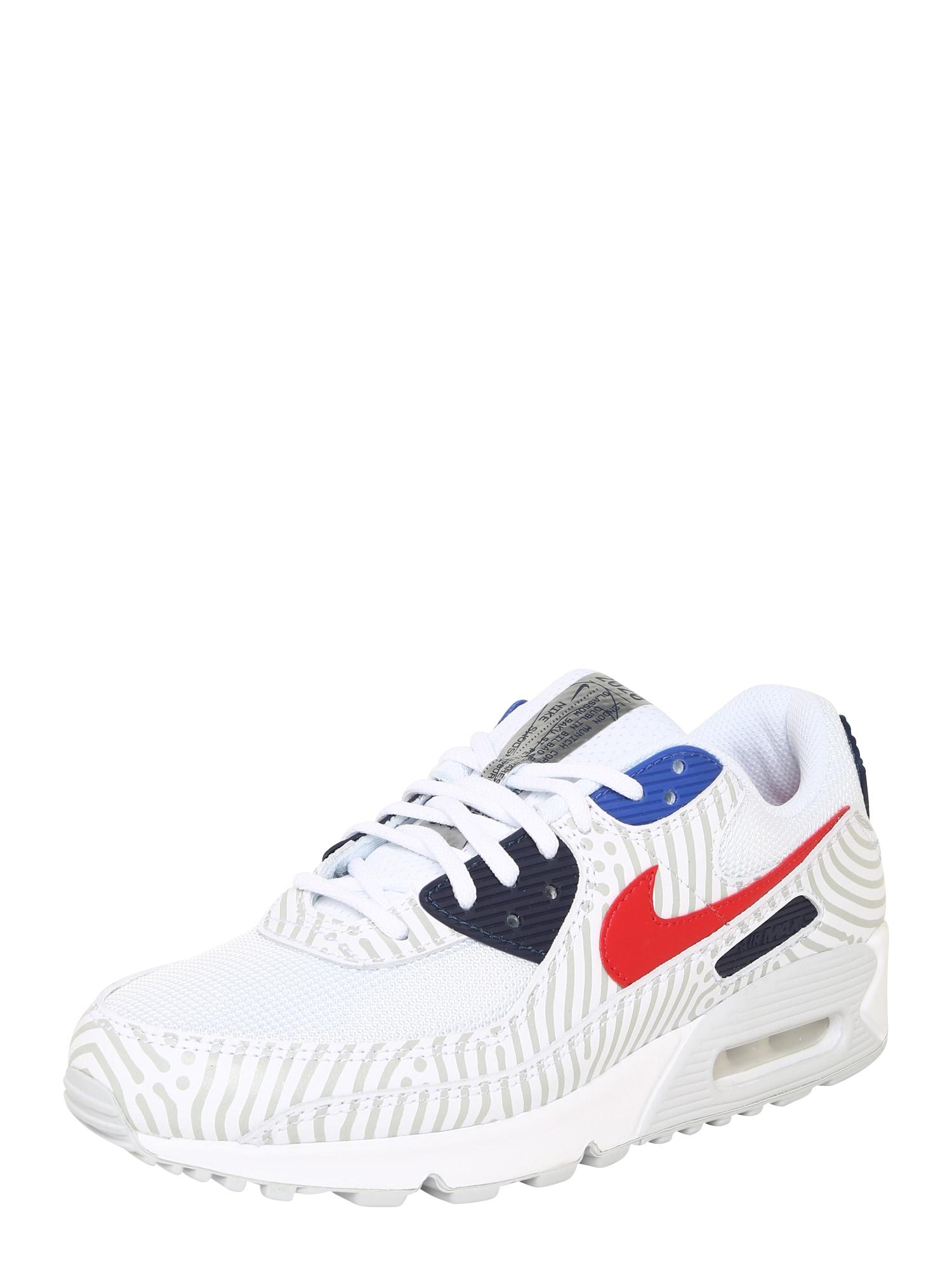 Nike Sportswear Sportbačiai be auliuko tamsiai mėlyna / balta / raudona / pilka